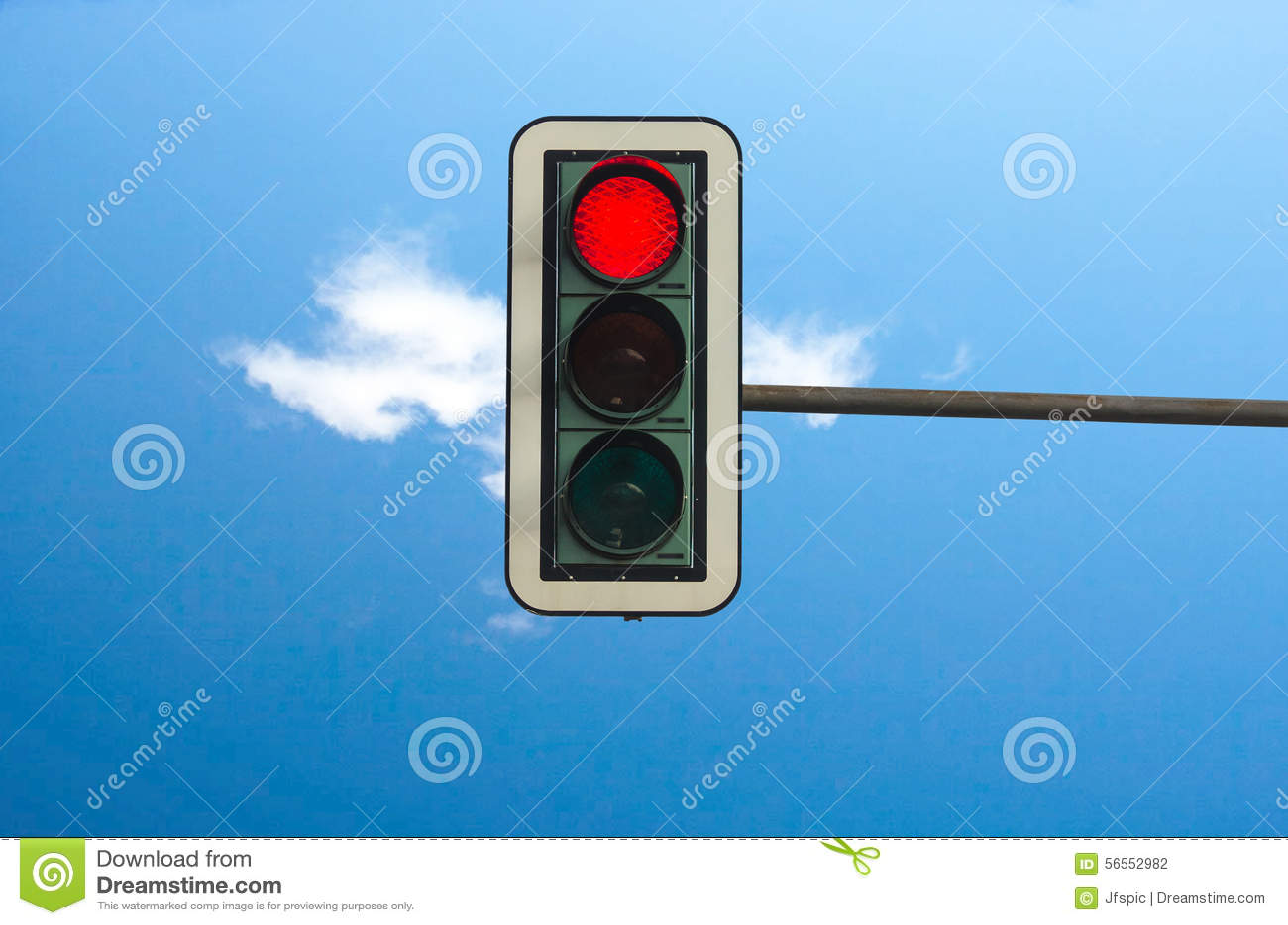 Download Κόκκινο στους φωτεινούς σηματοδότες Στοκ Εικόνες - εικόνα από ηλεκτρικός, κατεύθυνση: 56552982
