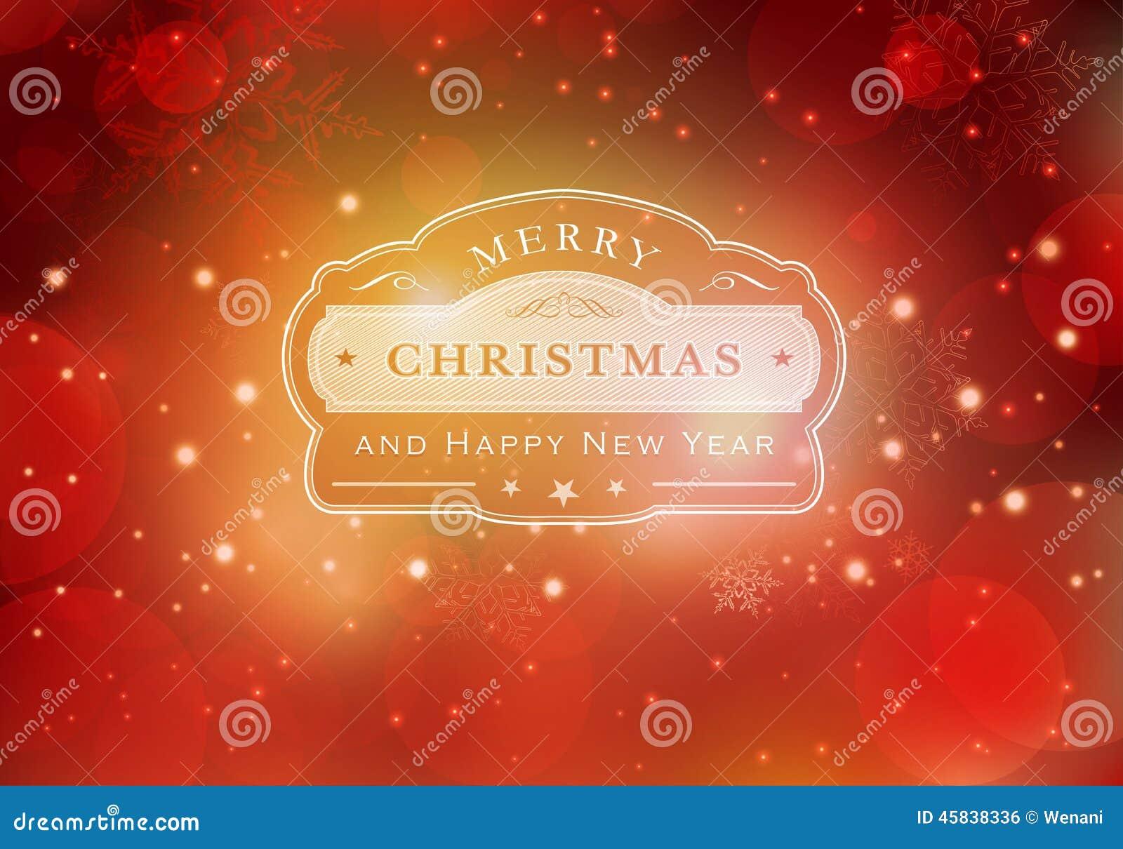 Κόκκινο υπόβαθρο τυπογραφίας Χαρούμενα Χριστούγεννας