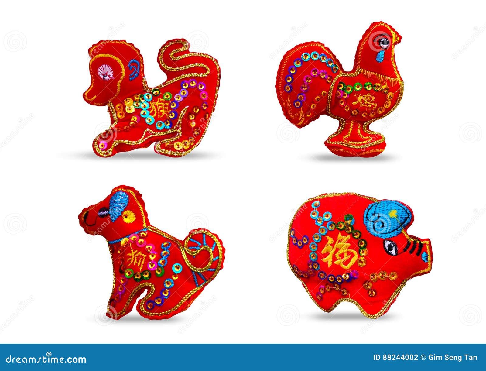 Κόκκινο χρώμα δώδεκα zodiacs SE 4