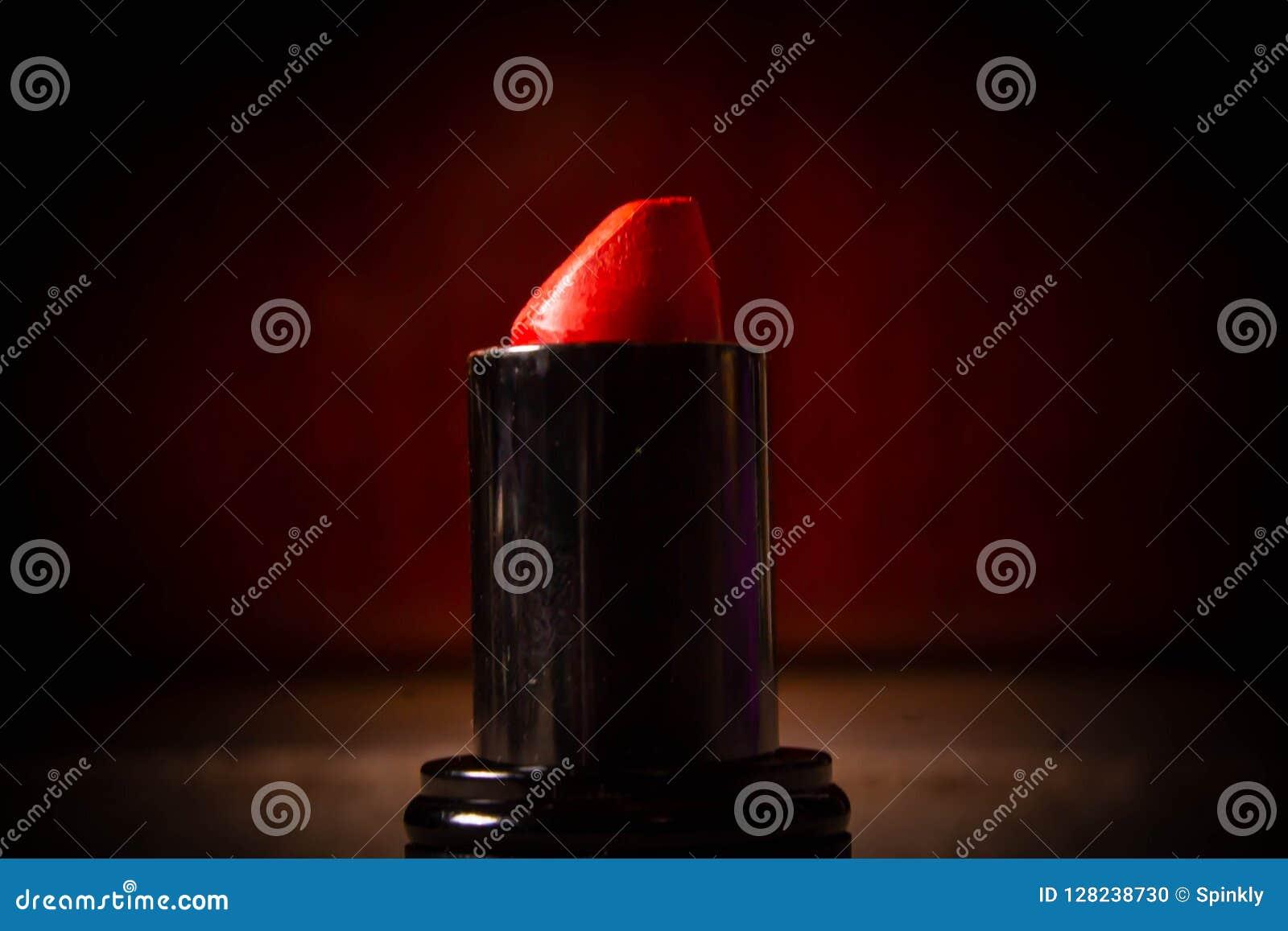 Κόκκινο χρώμα σκιάς κραγιόν για το υπόβαθρο