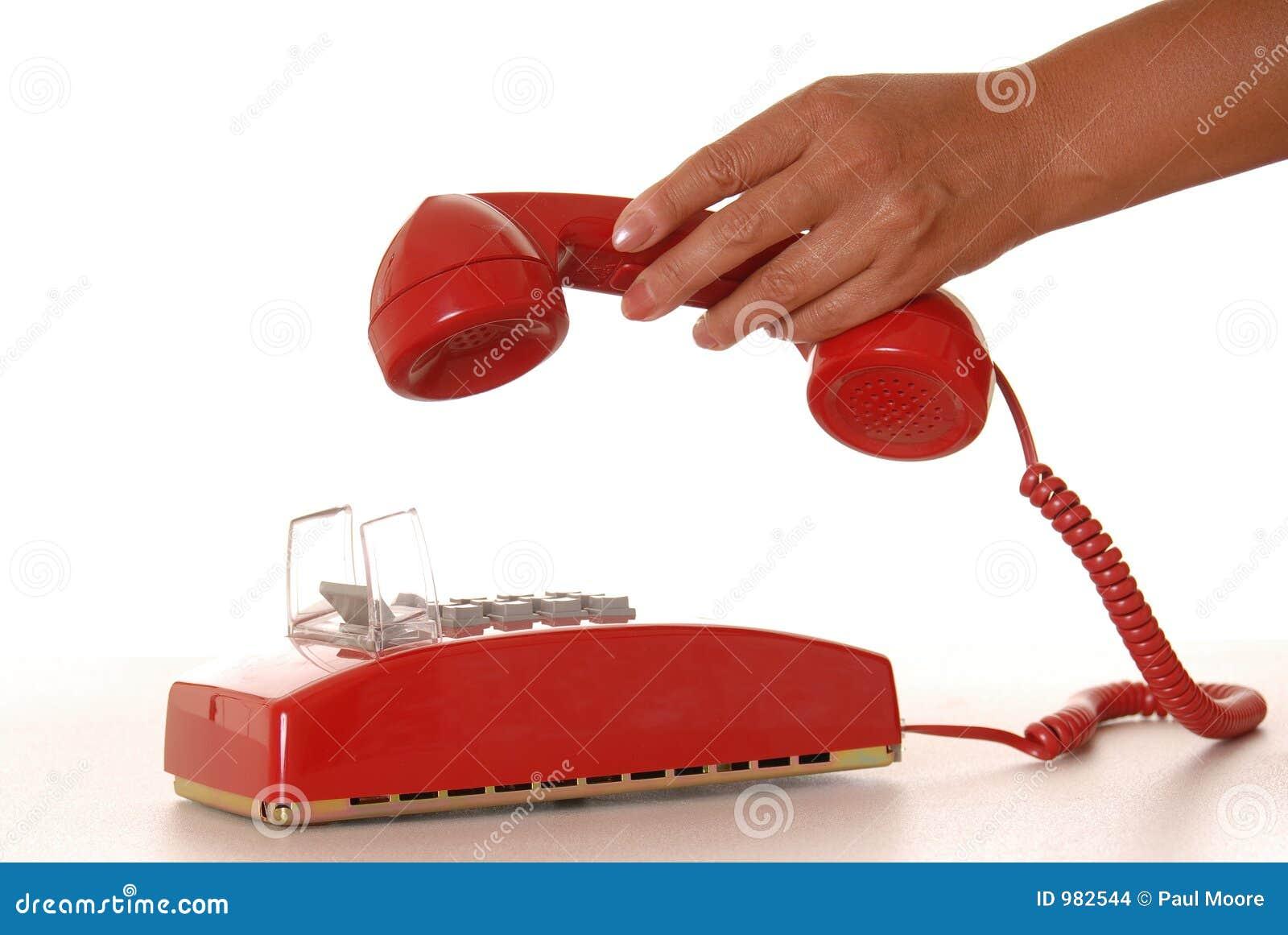κόκκινο 6 τηλεφώνων