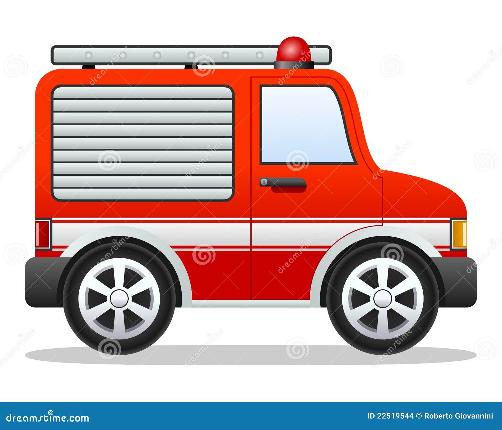 κόκκινο truck πυρκαγιάς κινού