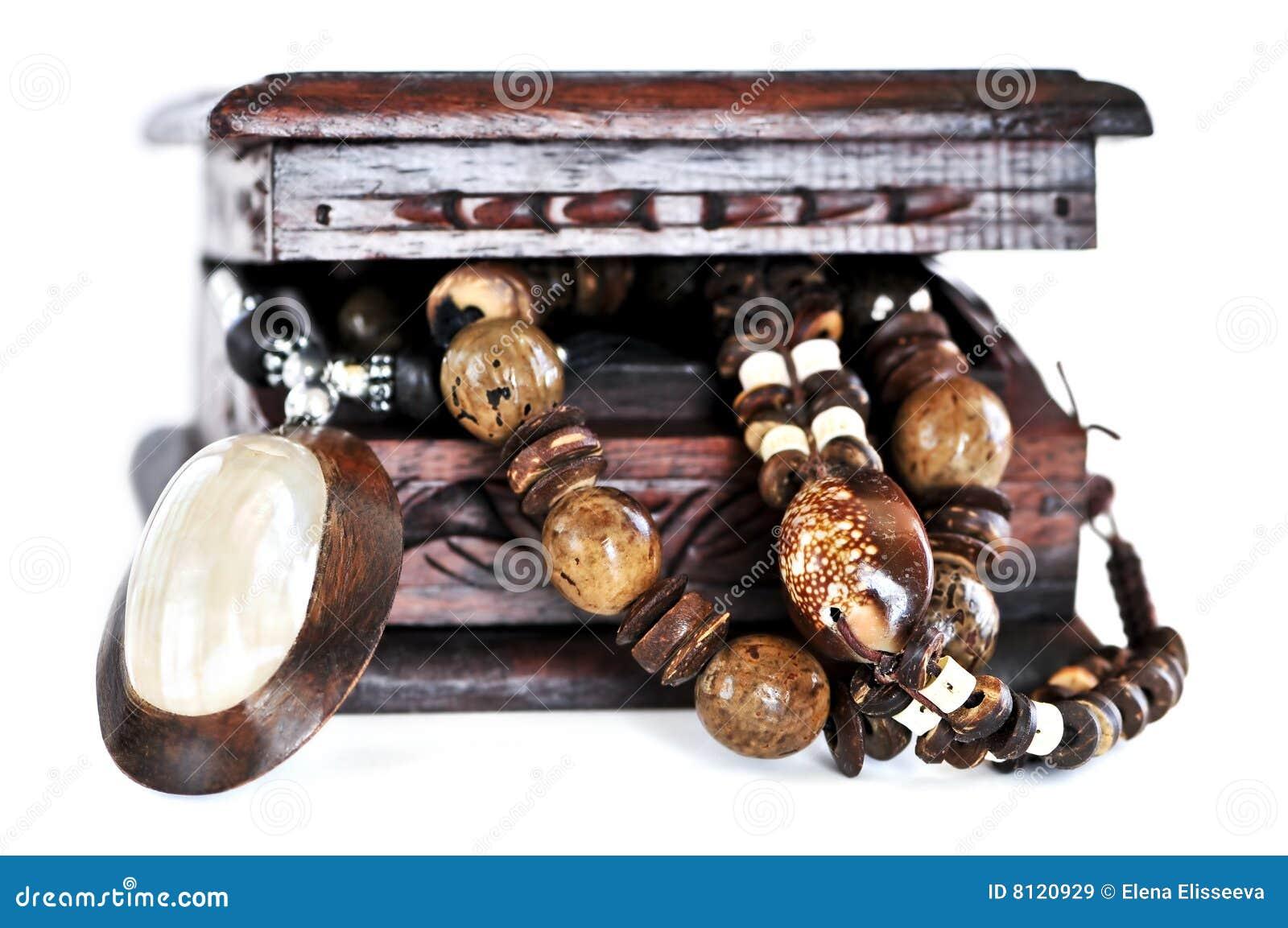 κόσμημα κιβωτίων ξύλινο