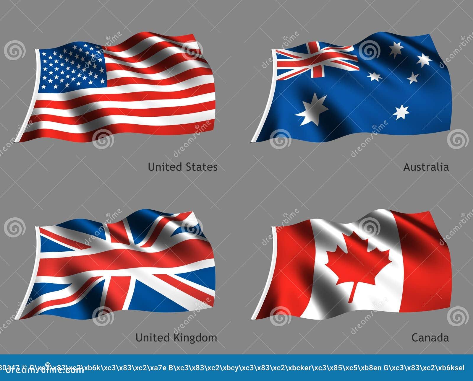 κόσμος σειράς σημαιών
