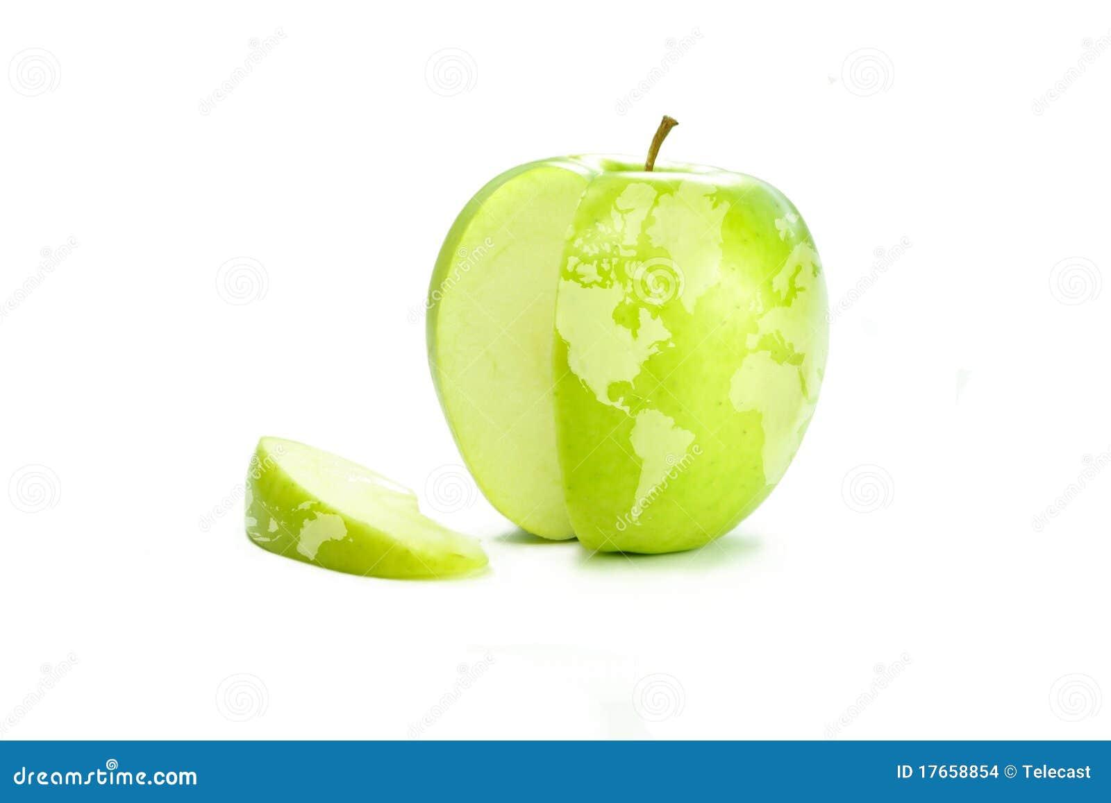 κόσμος χαρτών μήλων