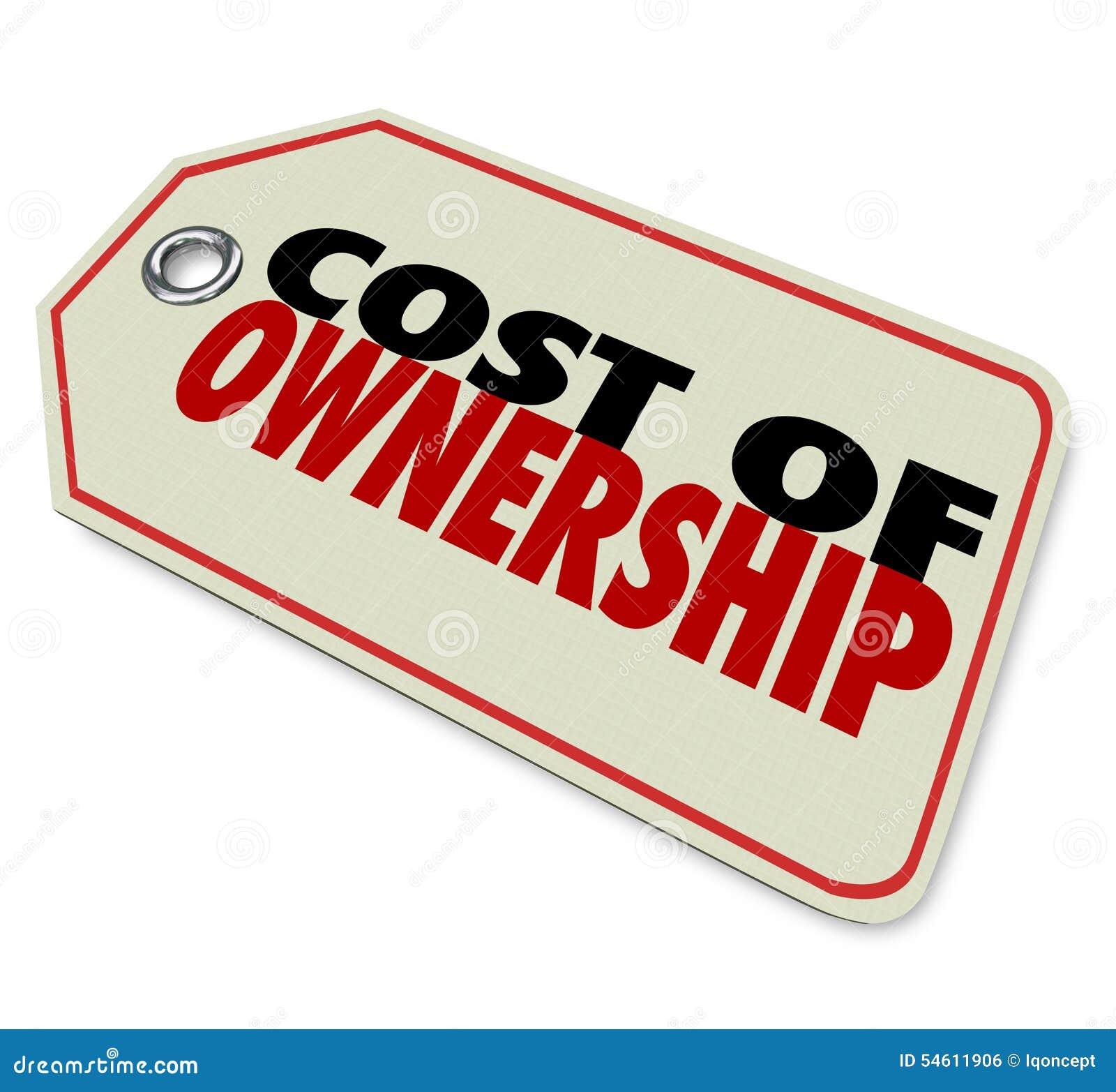 Κόστος της καλής επένδυσης ROI αξίας τιμών ιδιοκτησίας