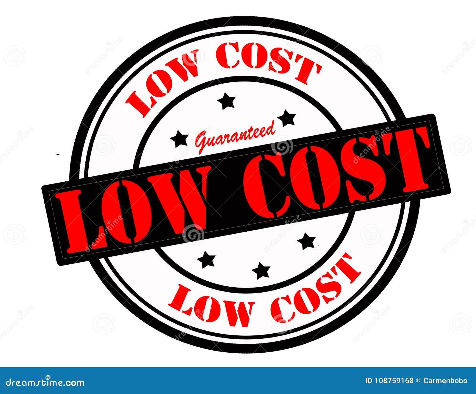κόστος χαμηλό