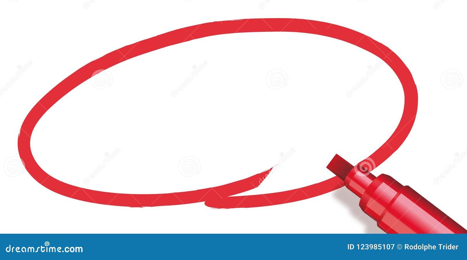 Κύκλος που γίνεται κόκκινος με έναν δείκτη