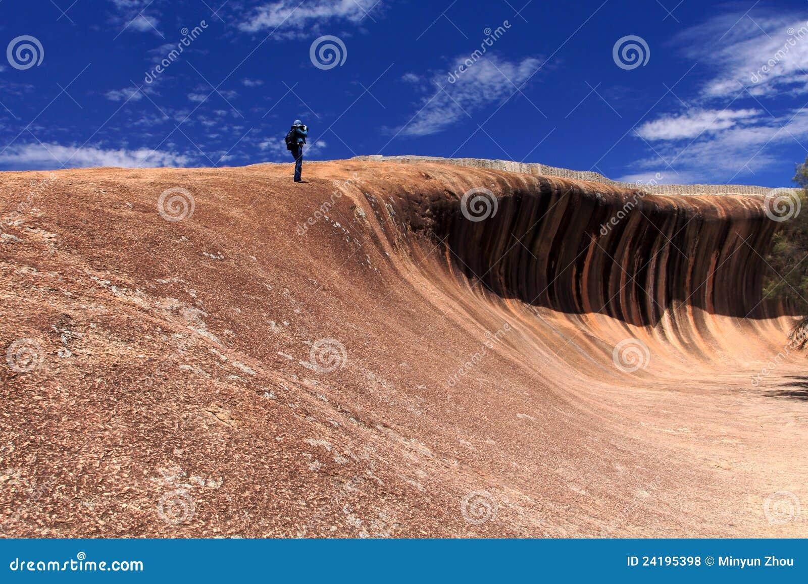 κύμα βράχου της Αυστραλίας δυτικό