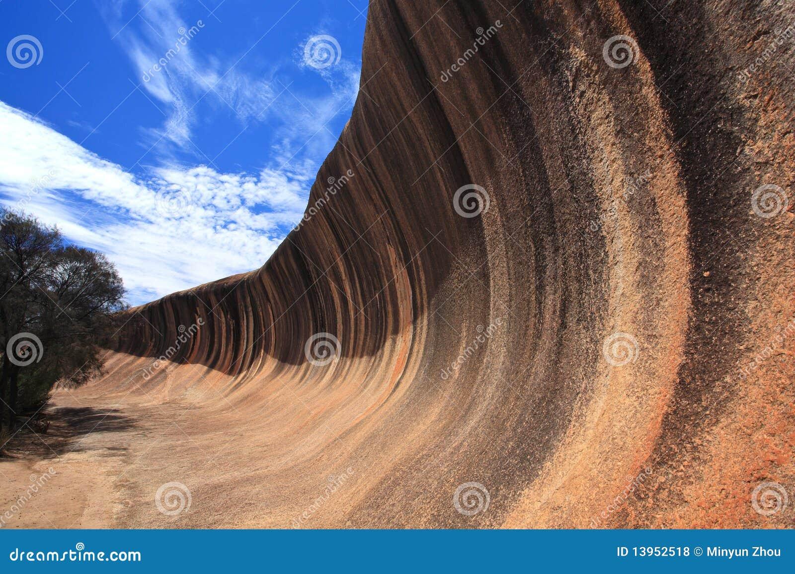 κύμα βράχου της Αυστραλία