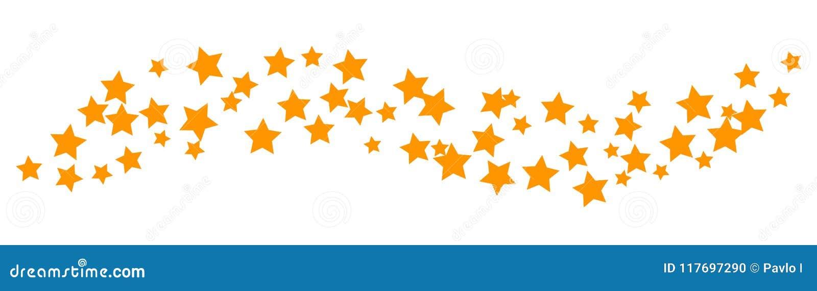 Κύμα υποβάθρου των αστεριών - διάνυσμα