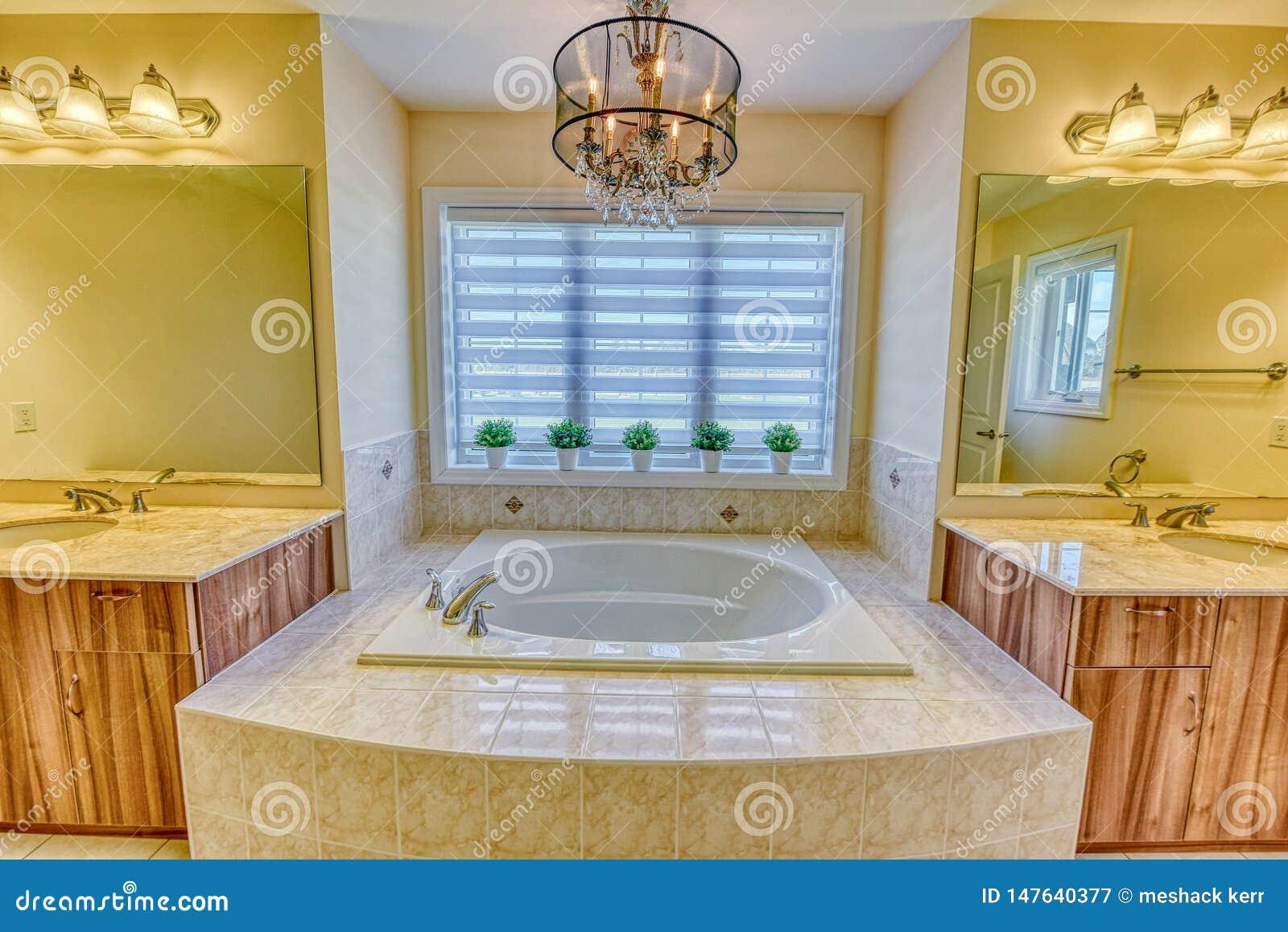 Κύριο washroom κρεβατοκάμαρων