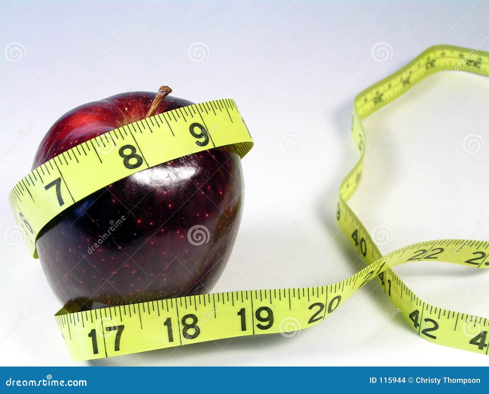 κώλυμα μέτρου μήλων κίτρινο