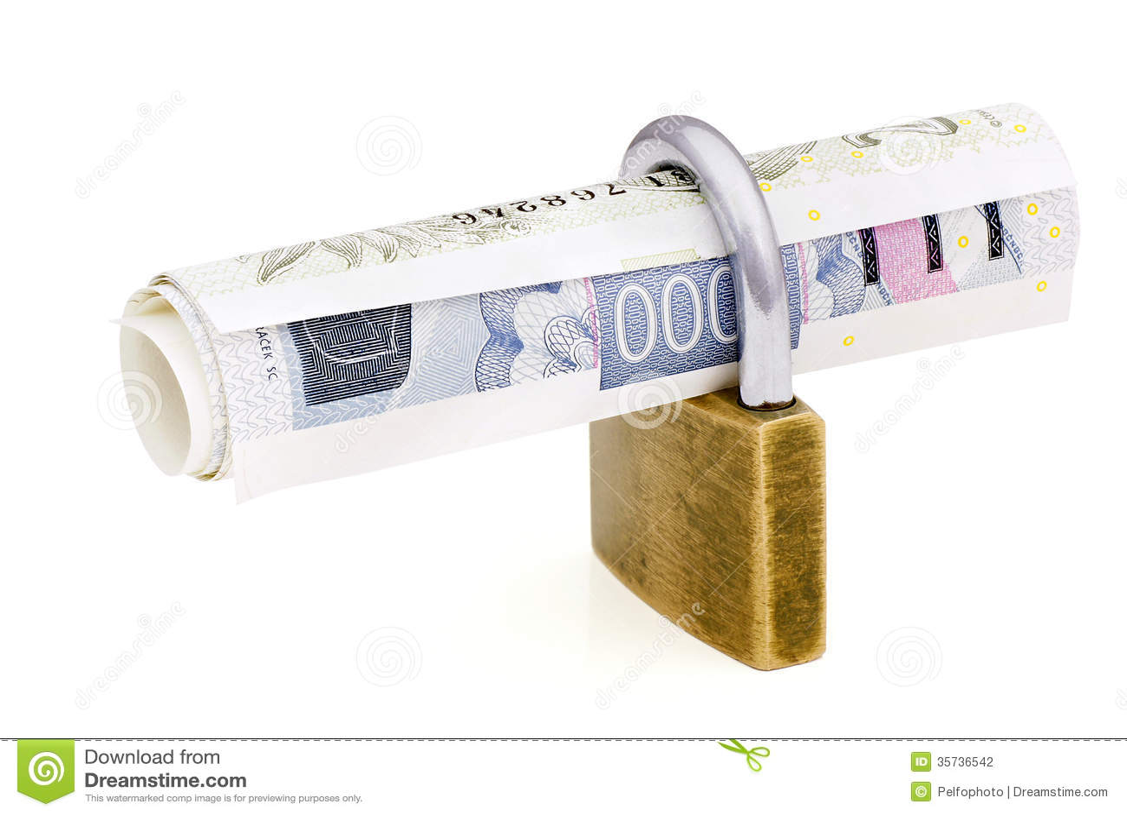 Κλειδωμένα χρήματα.