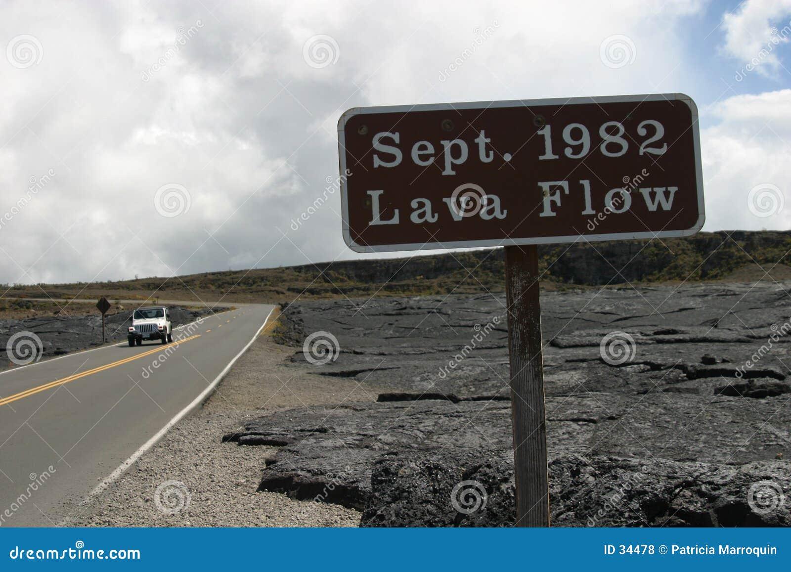 λάβα ροής του 1982