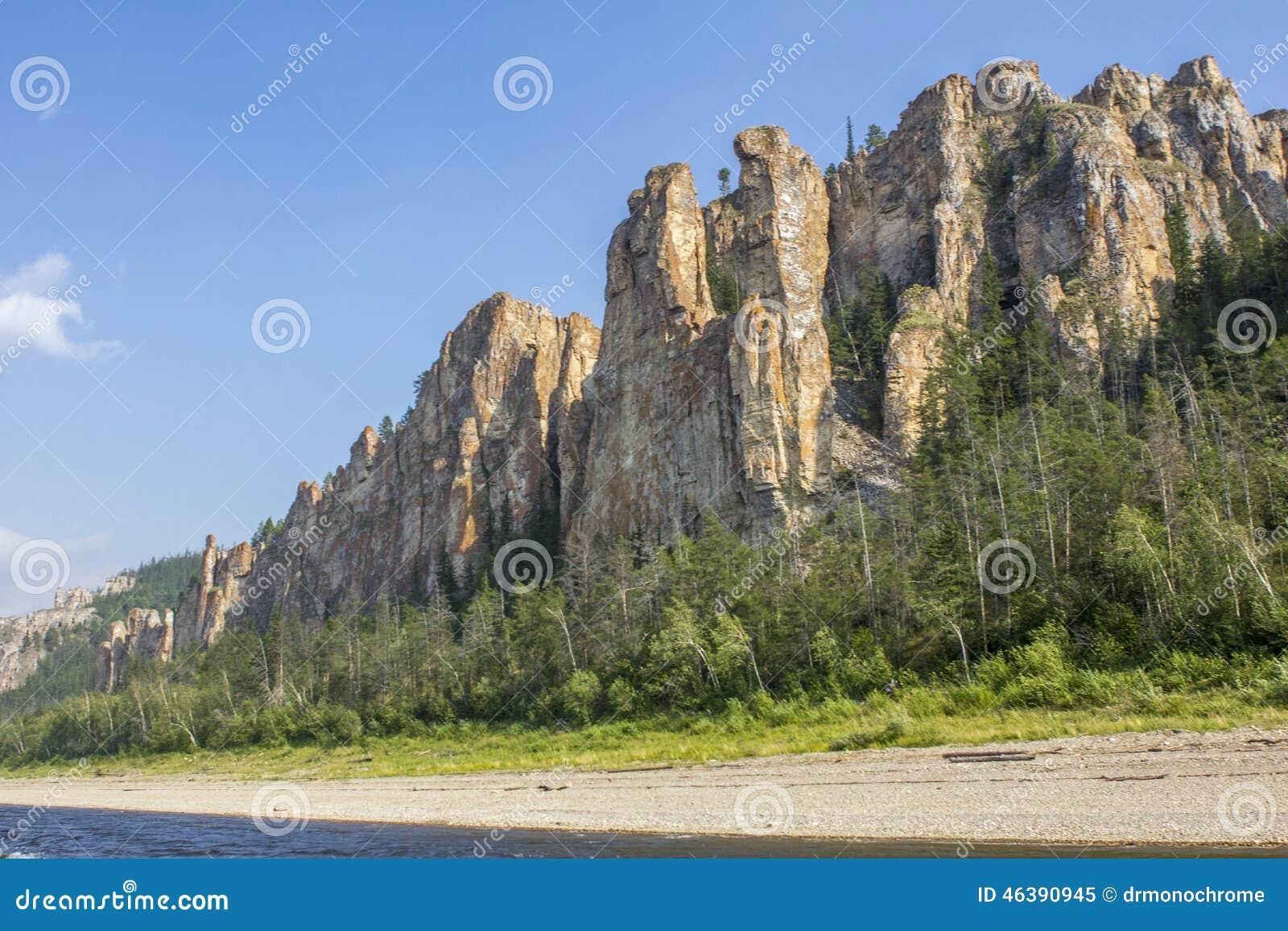 Λένα Pillars Σιβηρία Ρωσία