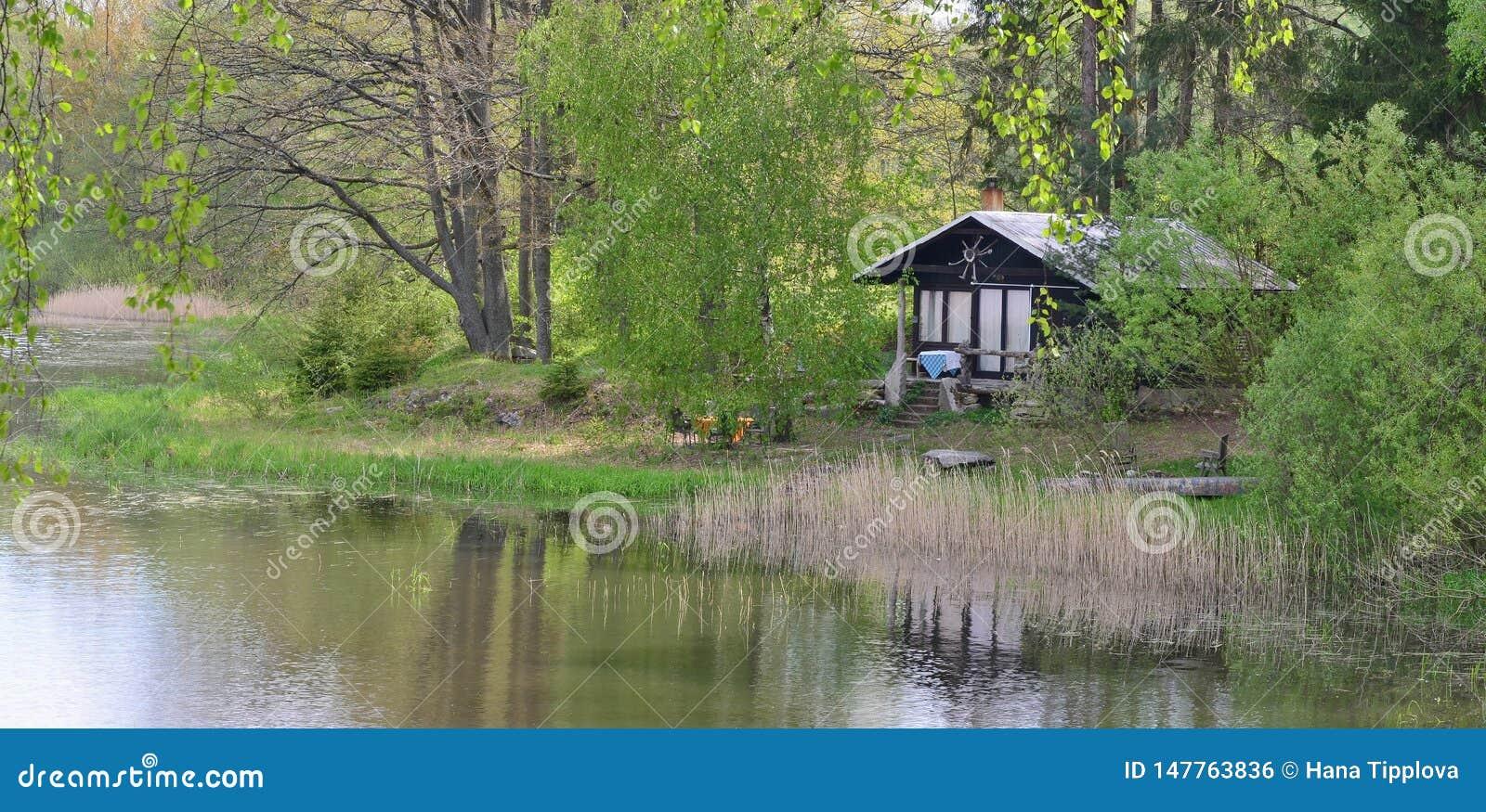 Λίμνες στην επαρχία, λίμνη Kaclezsky της νότιας Βοημίας