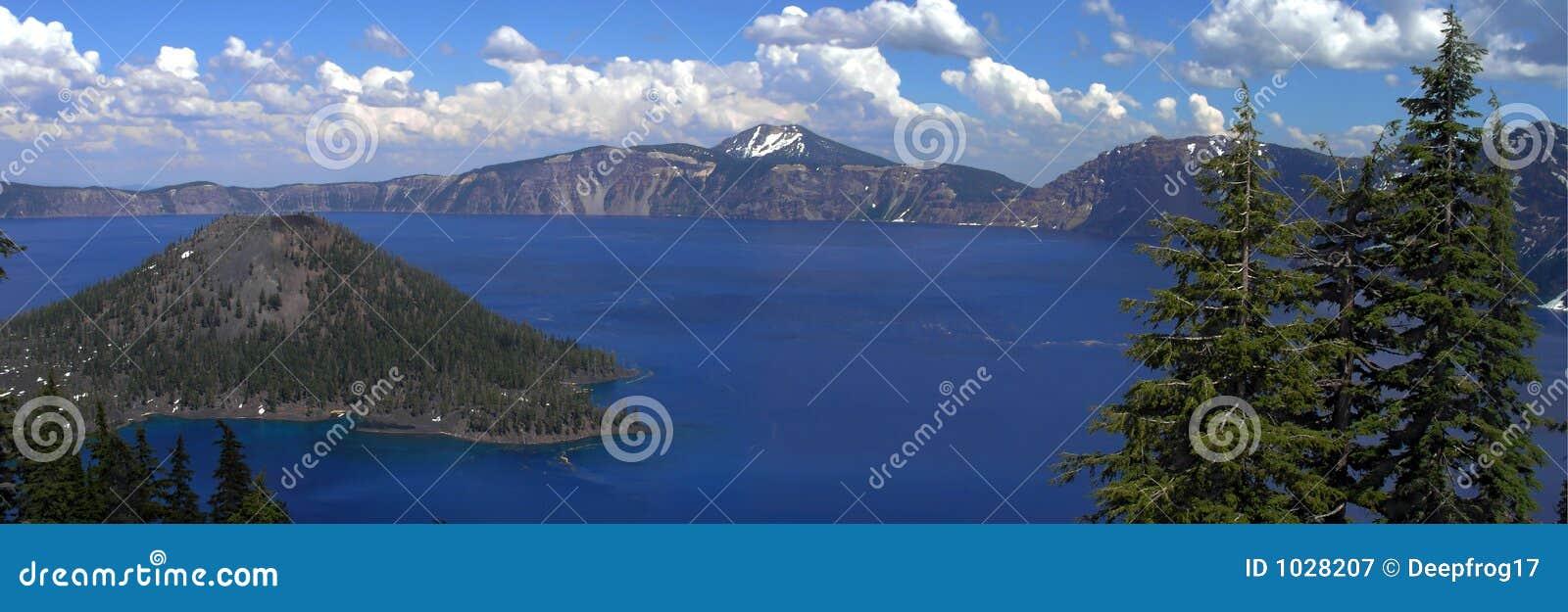 λίμνη κρατήρων πανοραμική