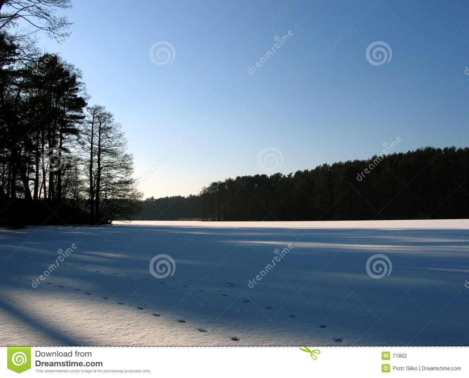 λίμνη πάγου