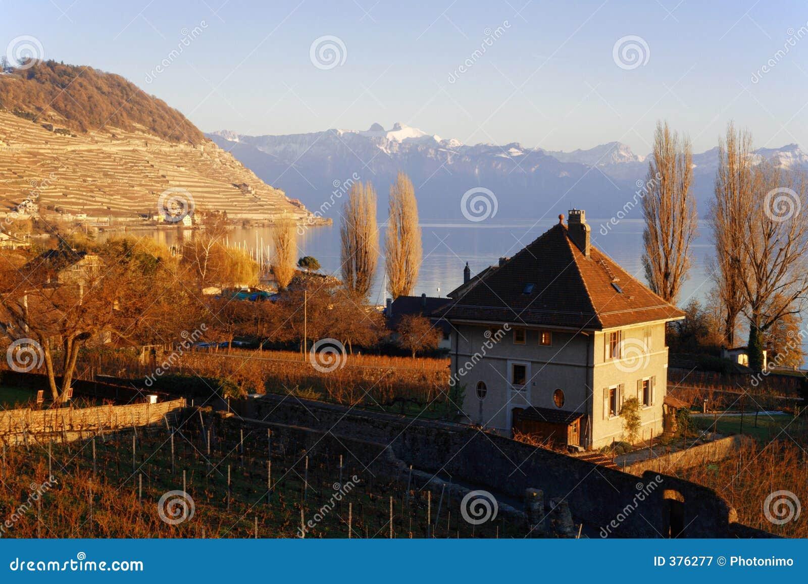 λίμνη της Γενεύης ακτών