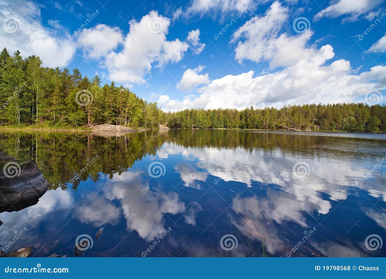 λίμνη της Φινλανδίας