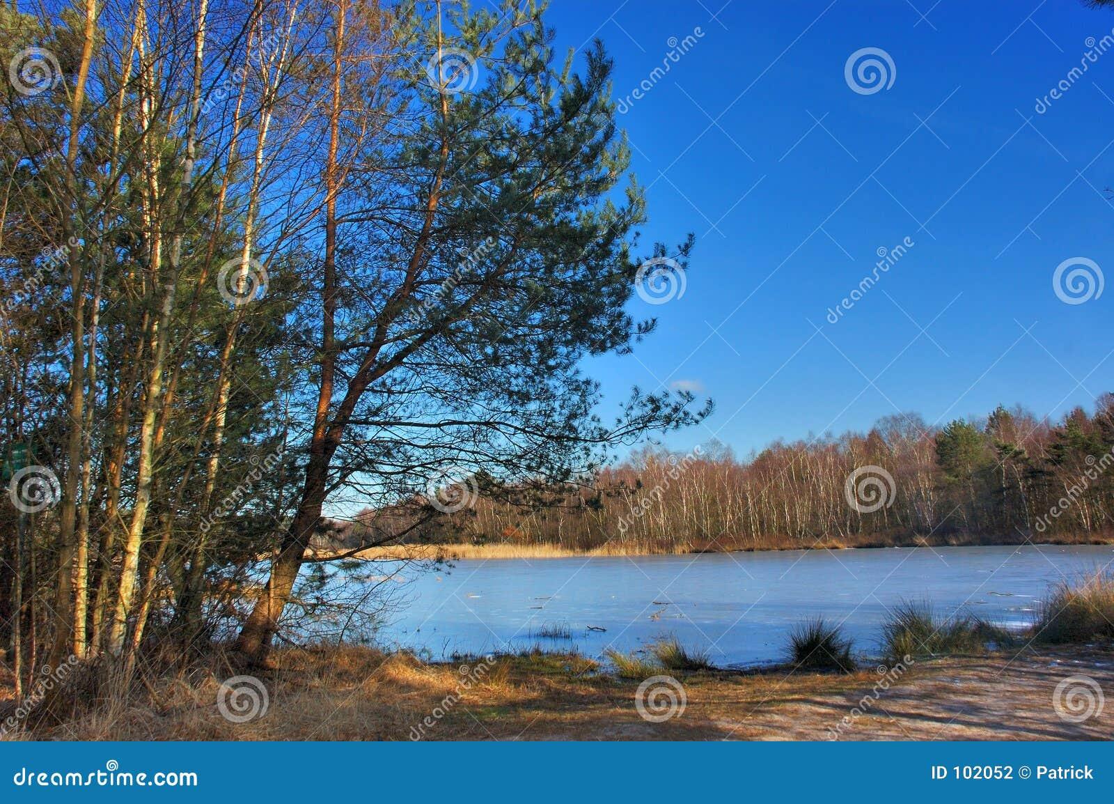 λίμνη τοπίων