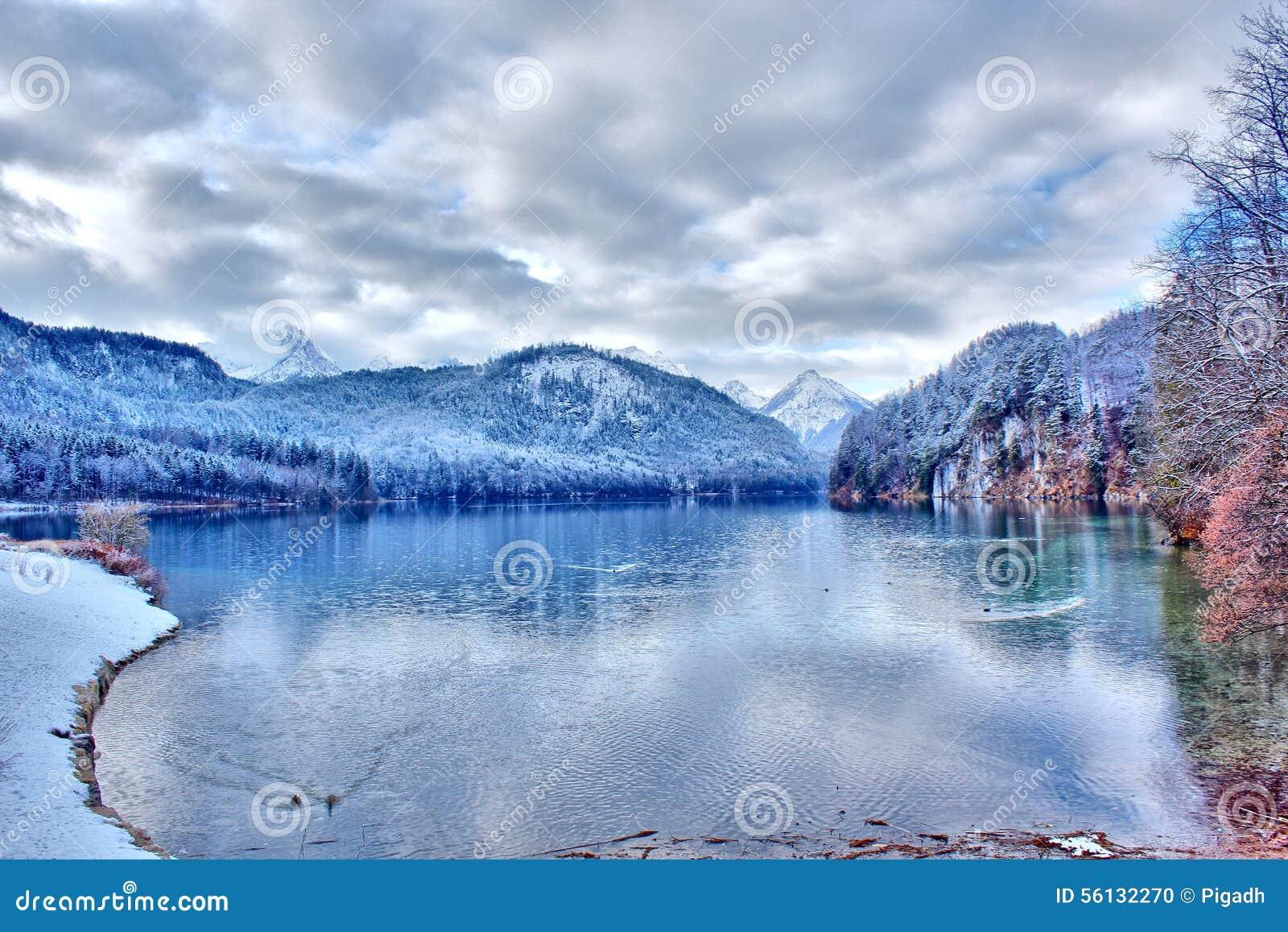 Λίμνη Alpsee στη νότια Γερμανία