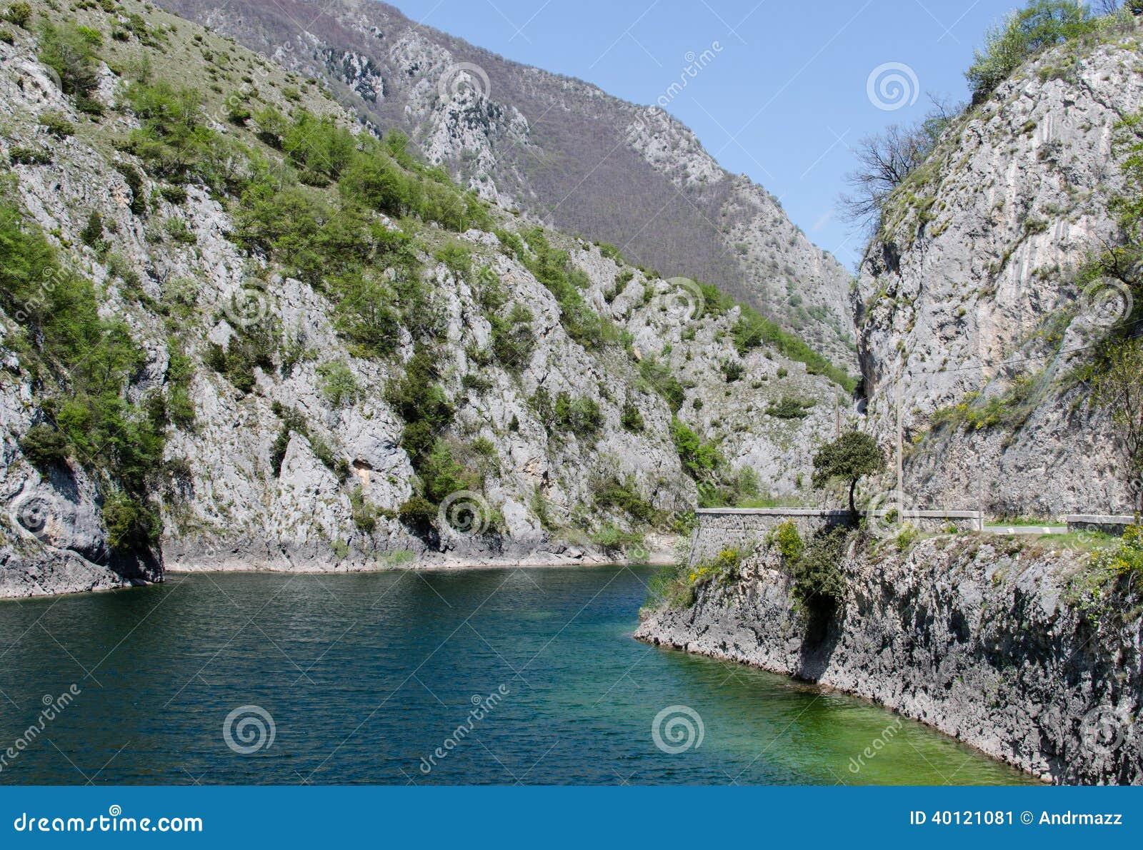 Λίμνη SAN Domenico, Ιταλία