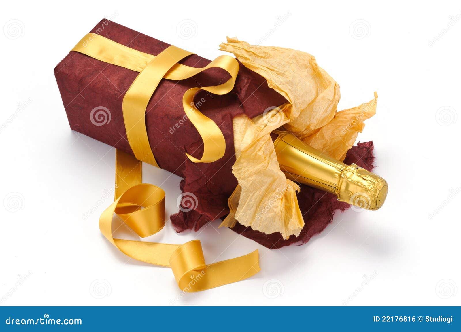 λαμπιρίζοντας κρασί δώρων &m