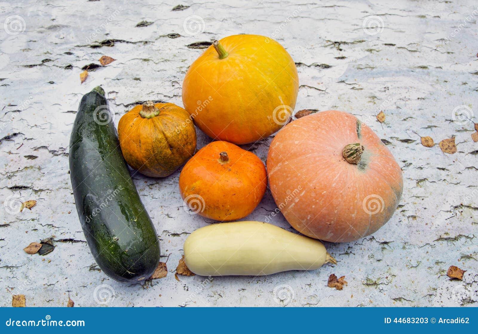 Λαχανικά, κολοκύθα, κολοκύθια