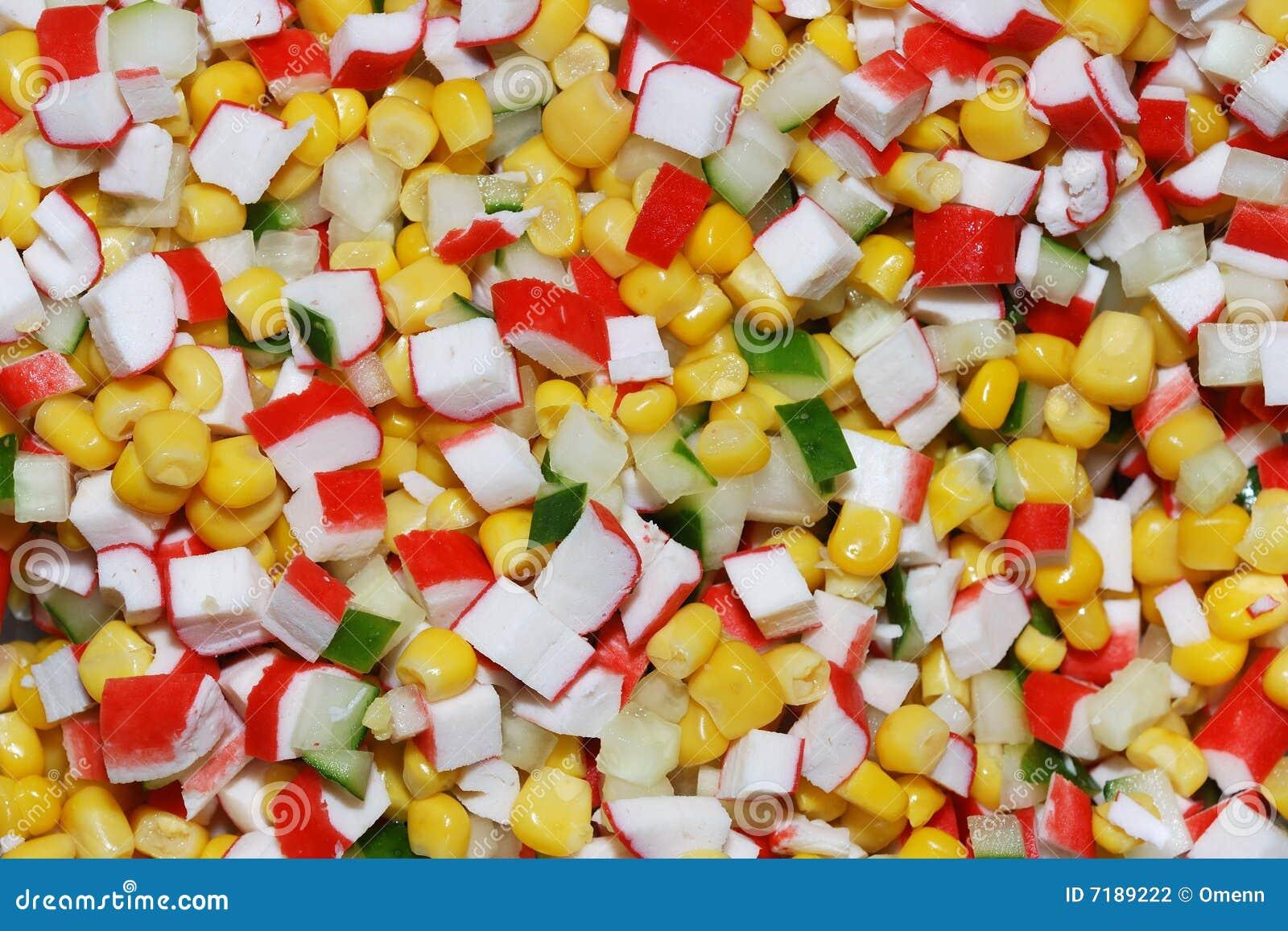 λαχανικά κρέατος καβουριών s