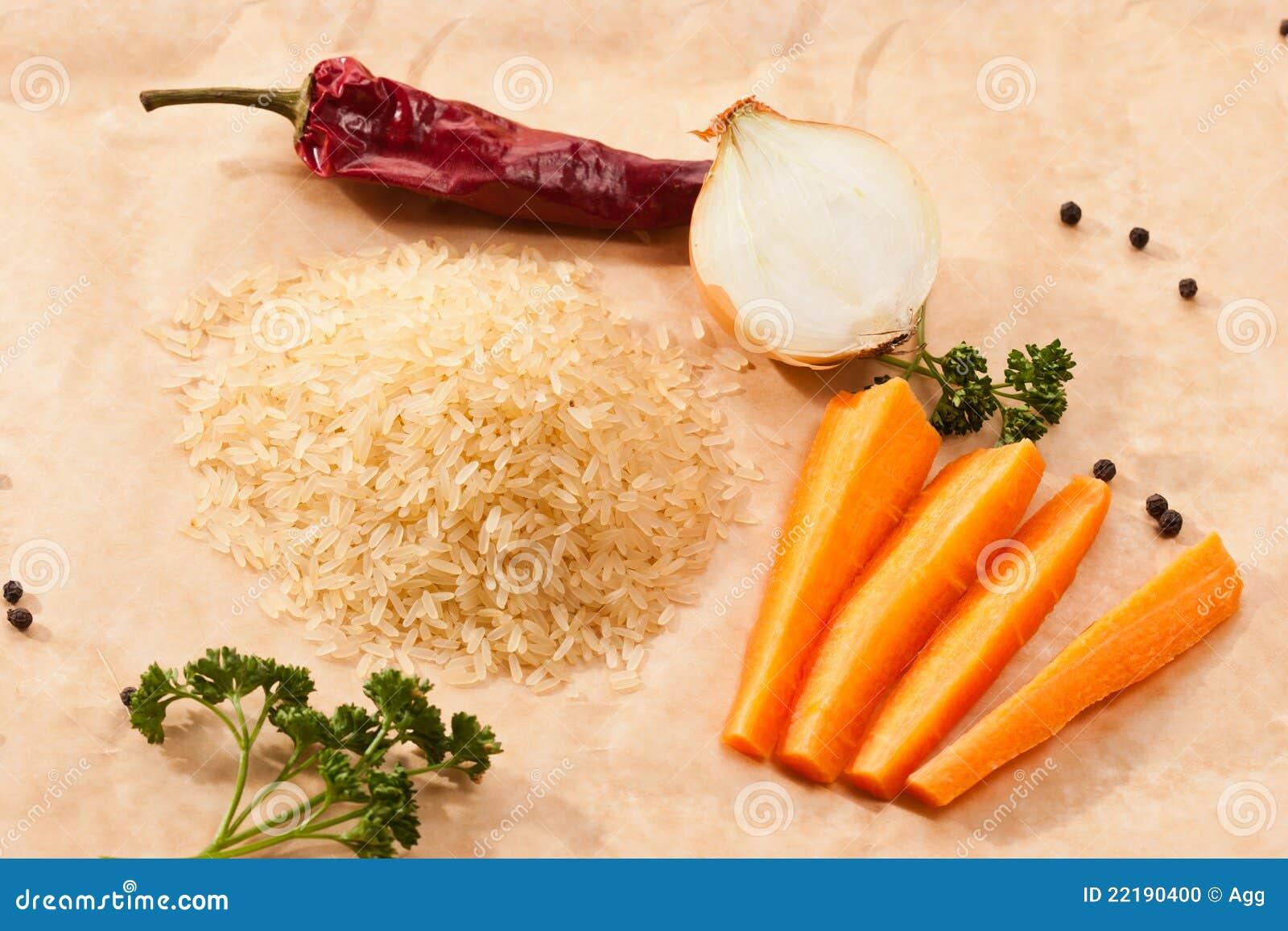 λαχανικά ρυζιού