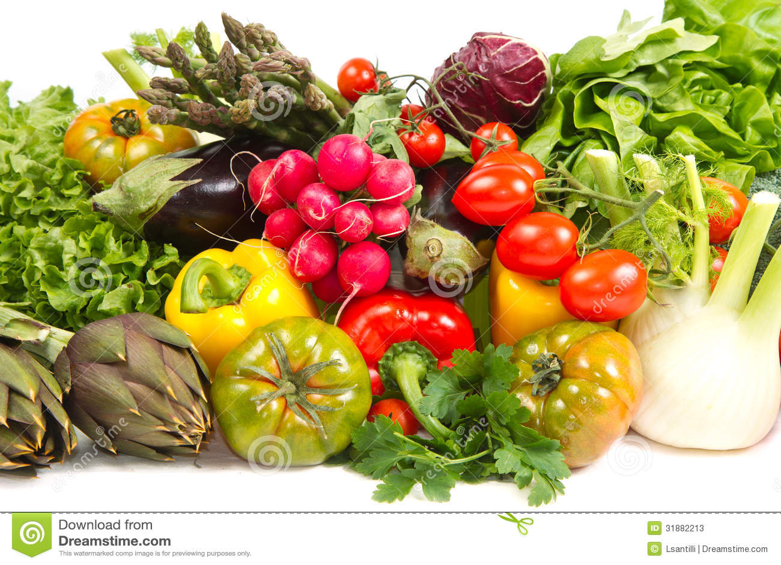 Λαχανικά στο καλάθι