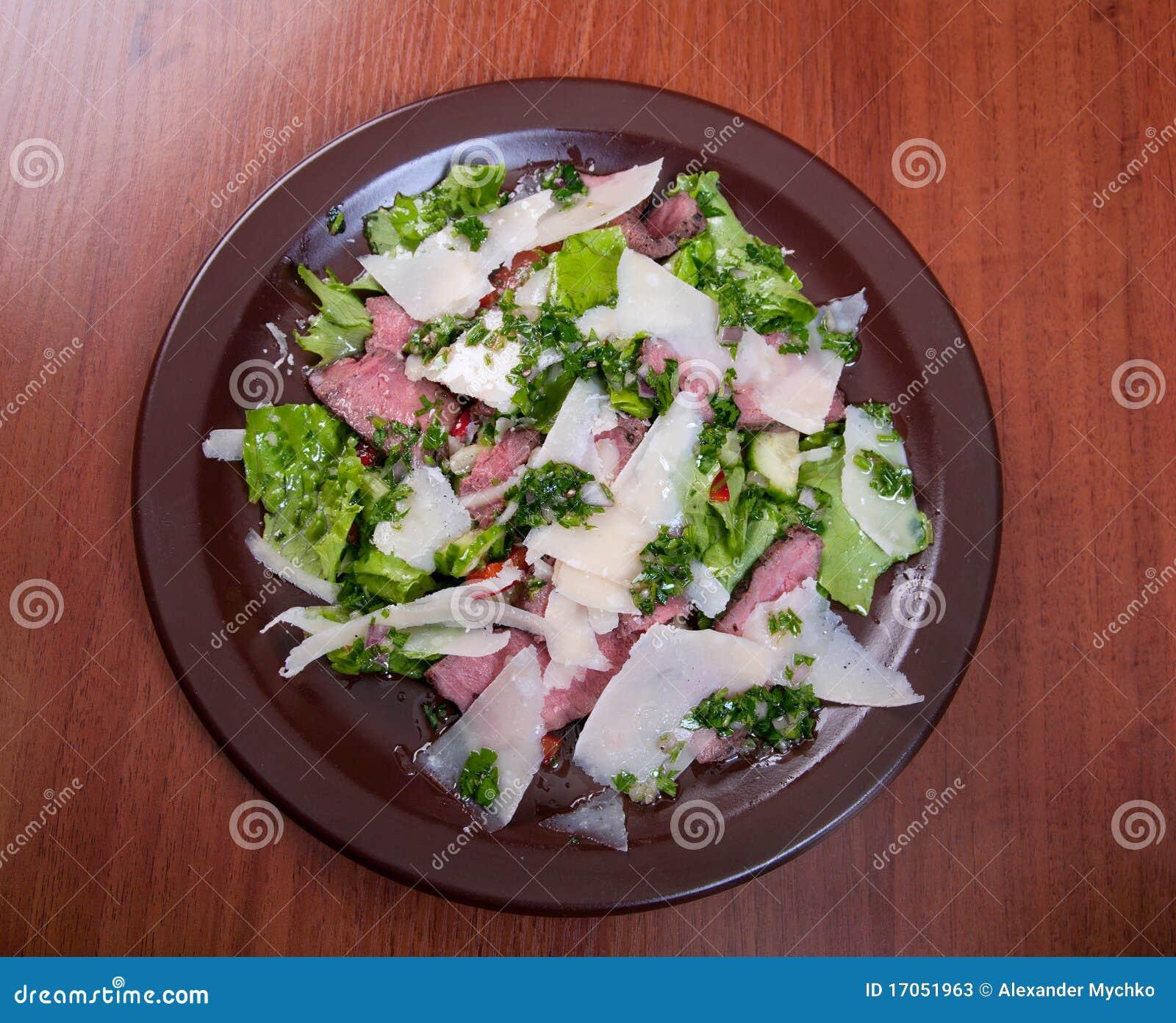 λαχανικό σαλάτας ζαμπόν τ&upsilon