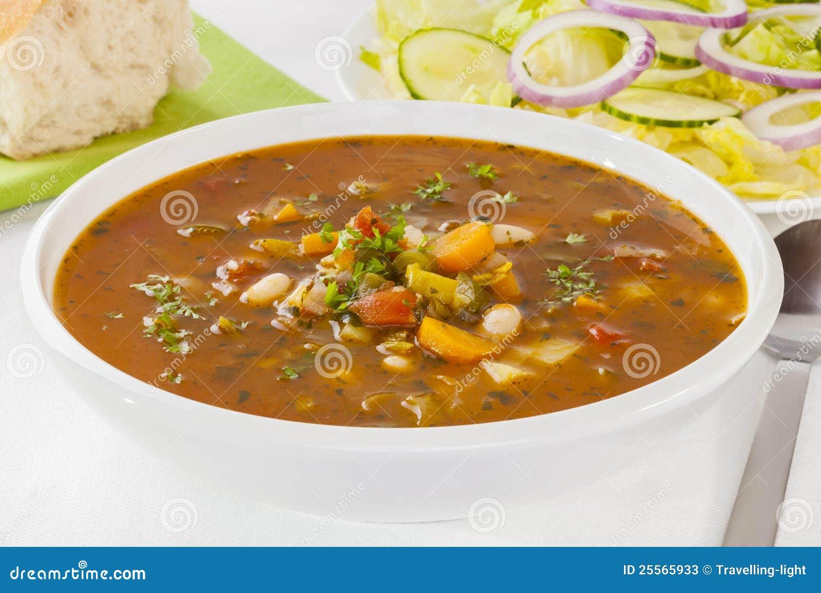 λαχανικό σούπας σαλάτας