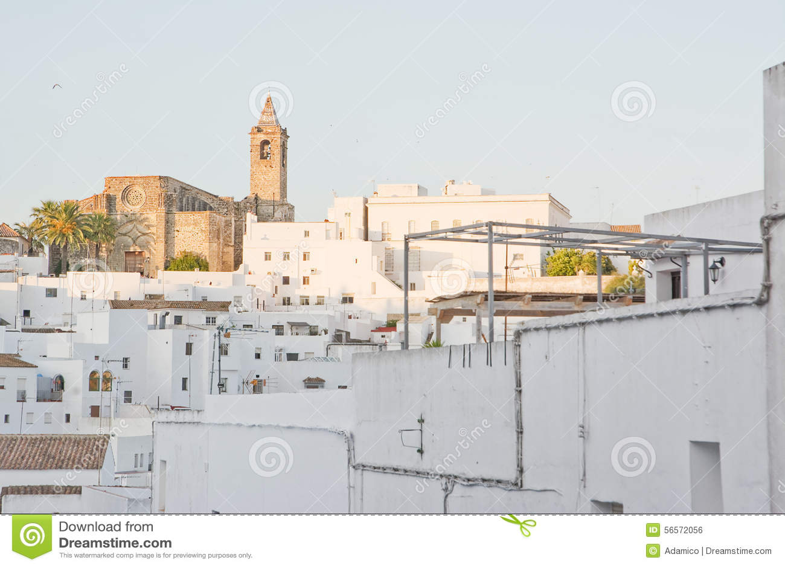 Download Λα Frontera Vejer De σε Ανδαλουσία Στοκ Εικόνες - εικόνα από pueblo, προορισμός: 56572056