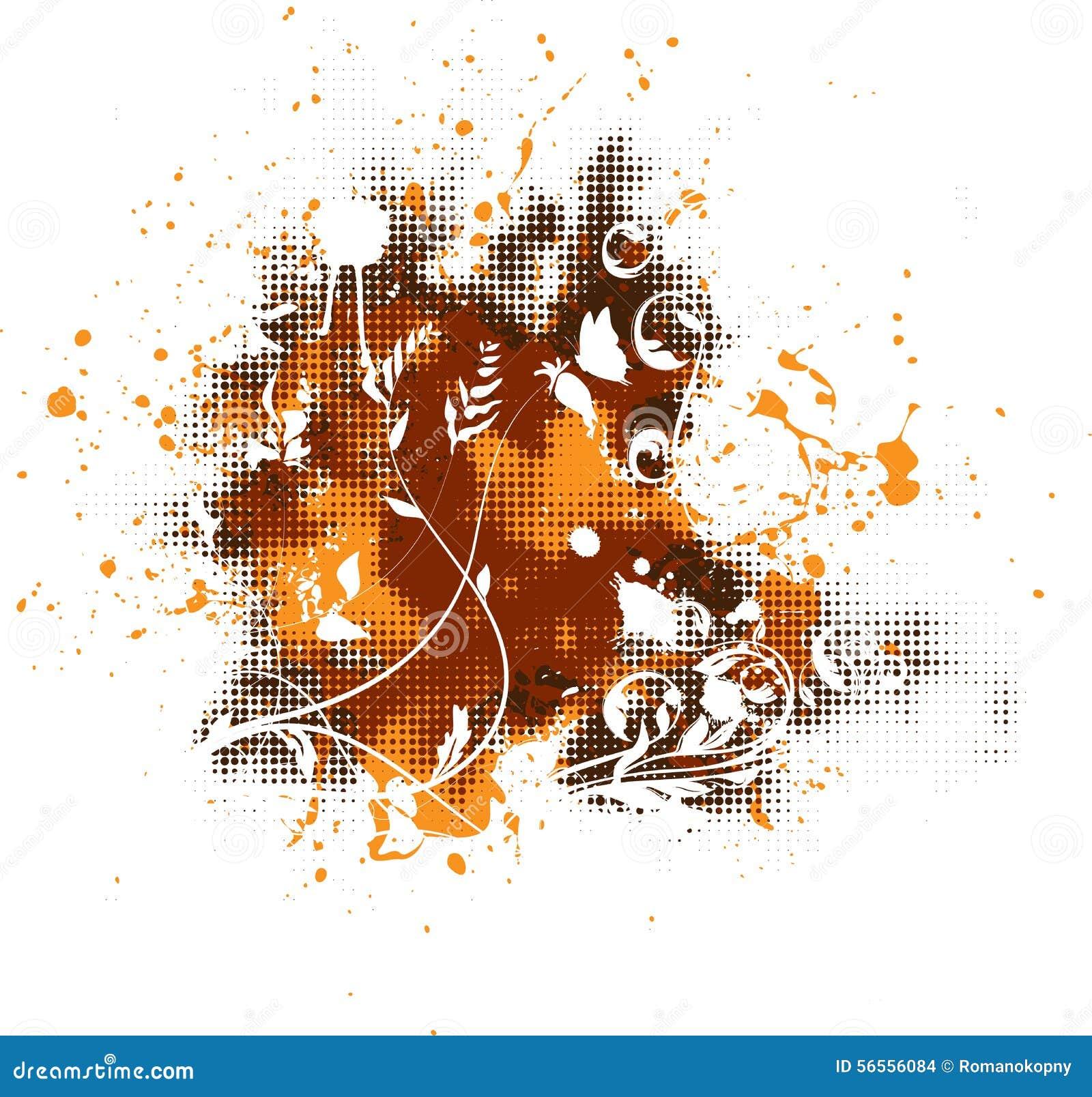 Download Λεκές τέχνης διανυσματική απεικόνιση. εικονογραφία από blocker - 56556084