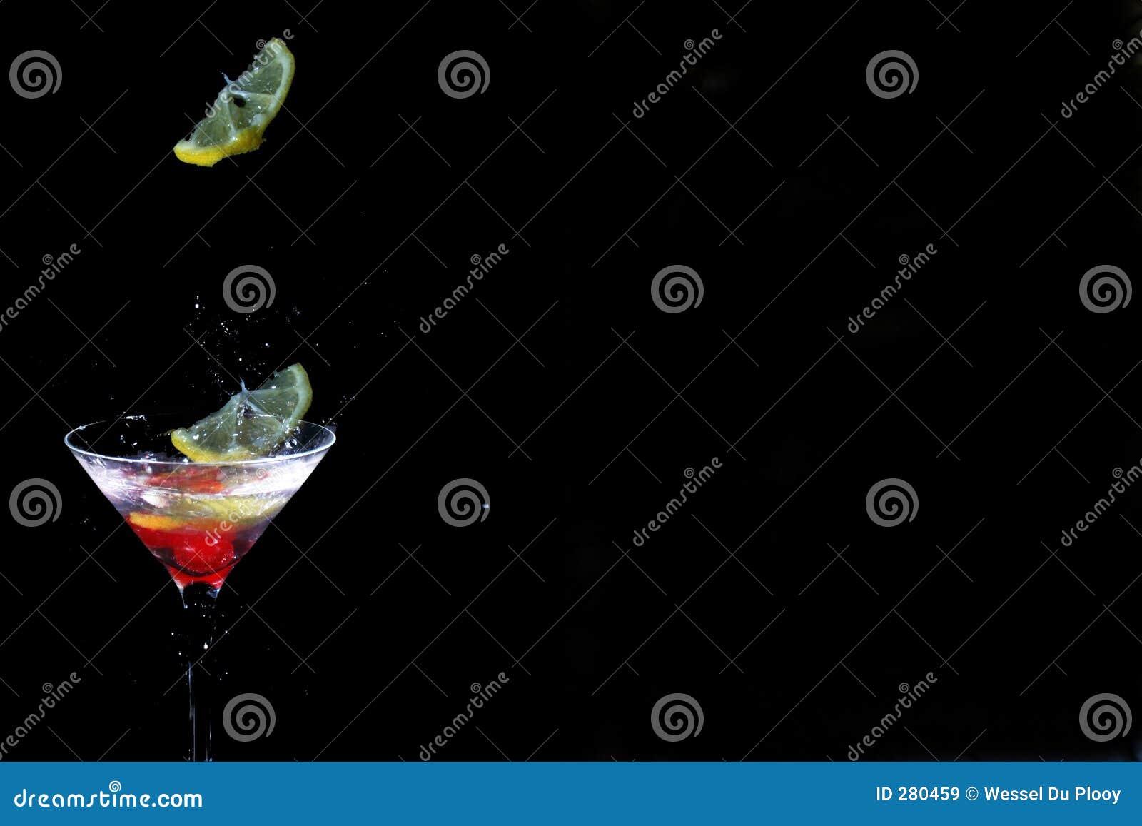 λεμόνι martini γυαλιού απελευθέρωσης