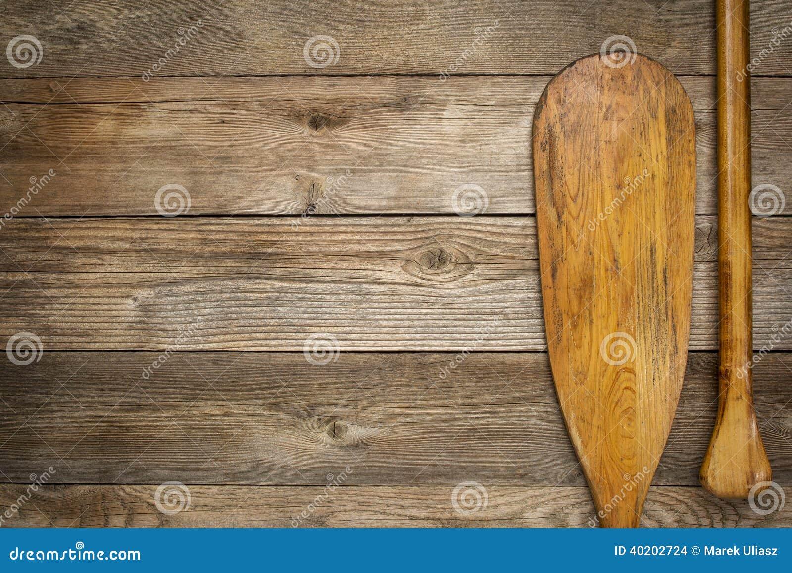 Λεπίδα και πιάσιμο του κουπιού κανό