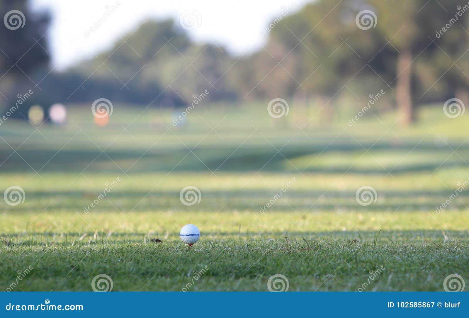 Λεπτομέρεια πρωταθλημάτων γκολφ στη σφαίρα