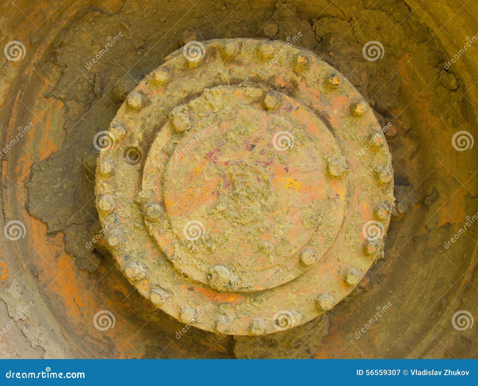 Download Λεπτομέρεια της παλαιάς συσκευής Στοκ Εικόνα - εικόνα από ρόδα, μέταλλο: 56559307