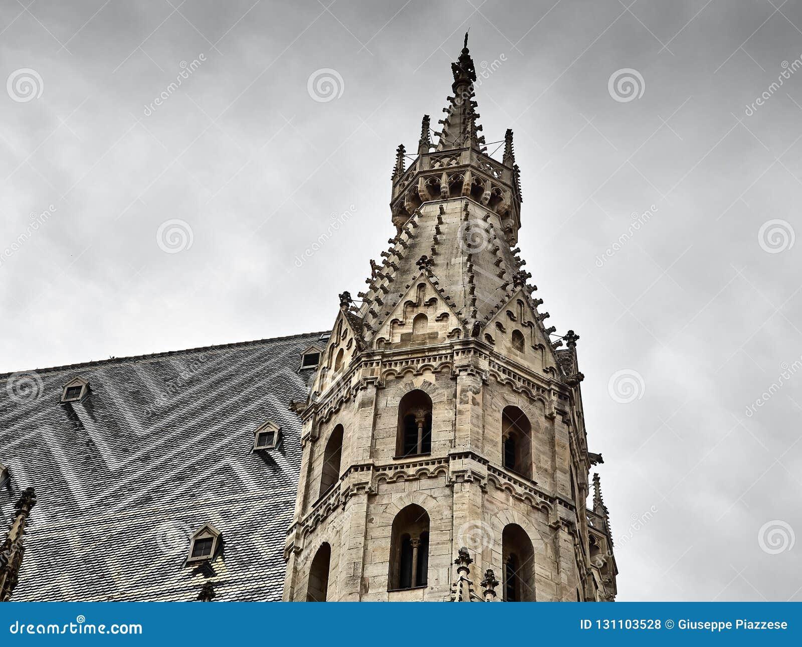 Λεπτομέρειες του καθεδρικού ναού του ST Stephens