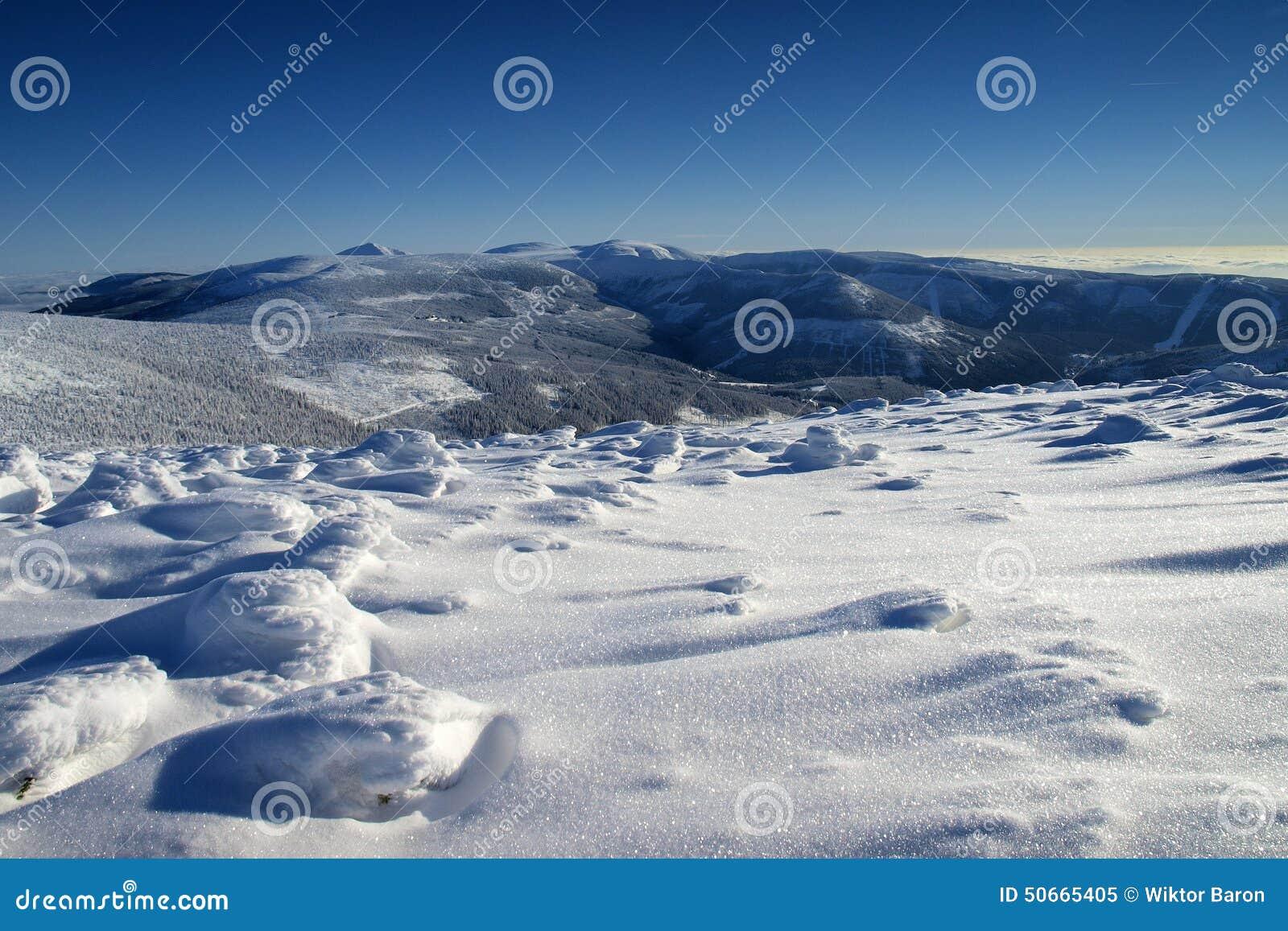Λευκότητα στα γιγαντιαία βουνά/Karkonosze