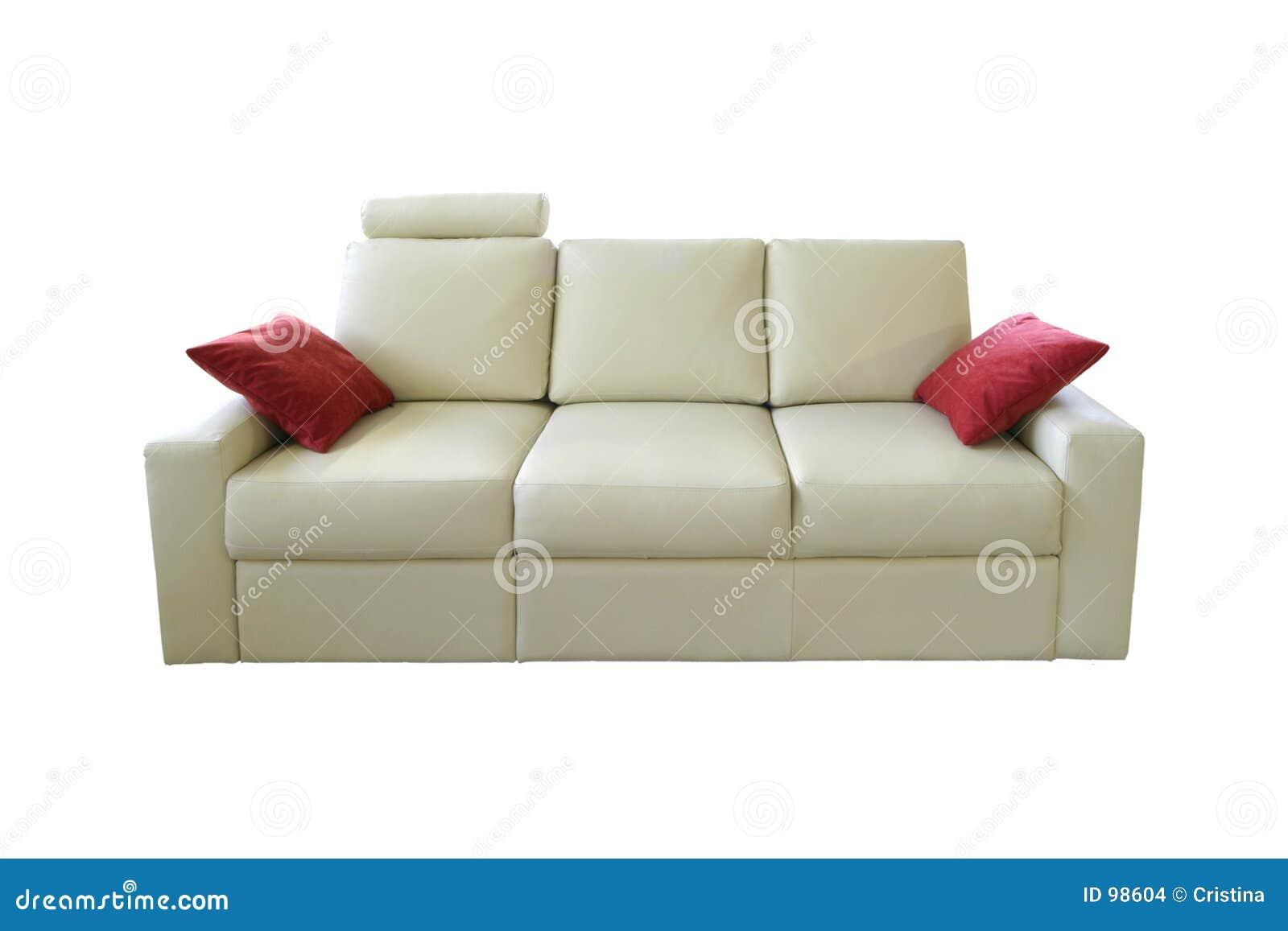 λευκό καναπέδων