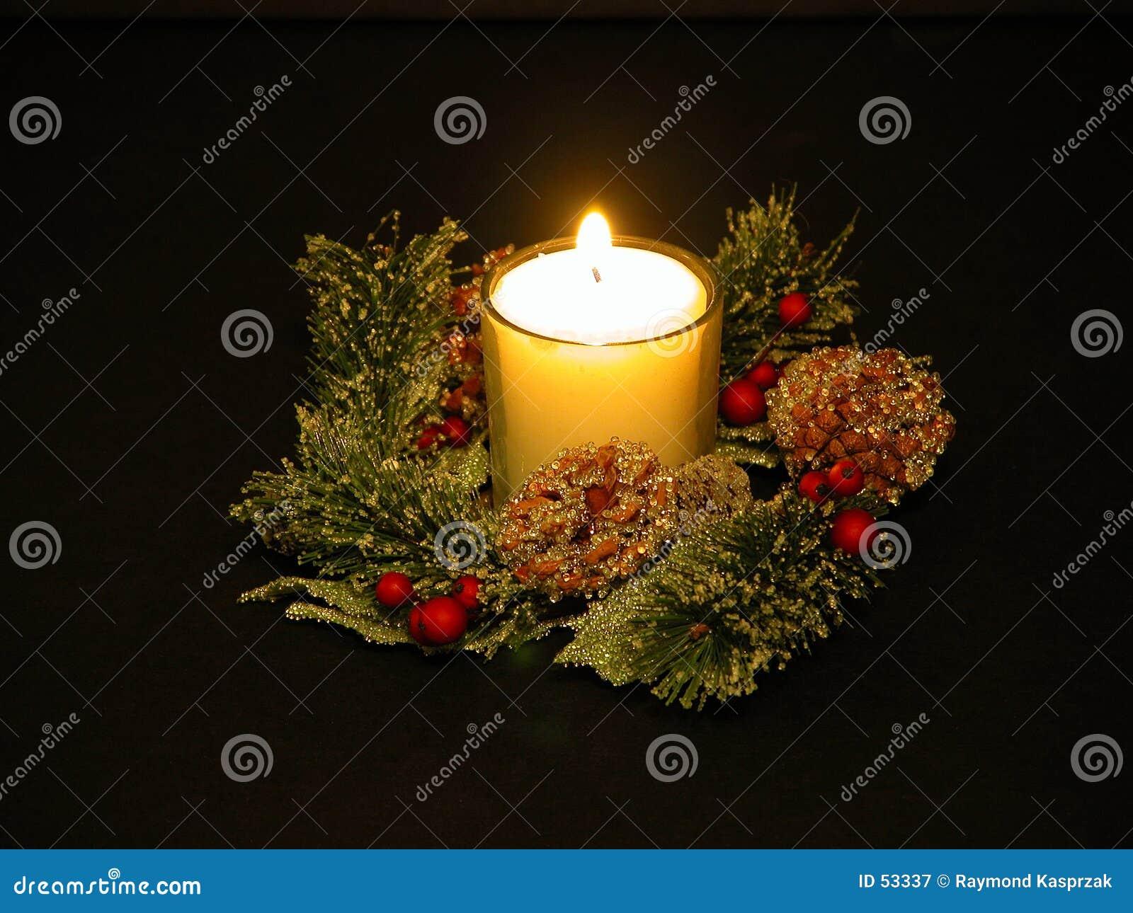 λευκό κεριών