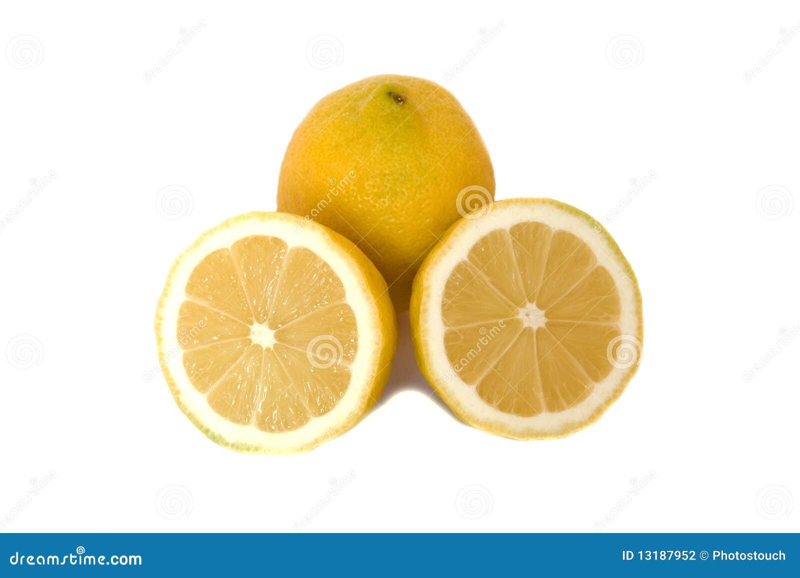 λευκό λεμονιών