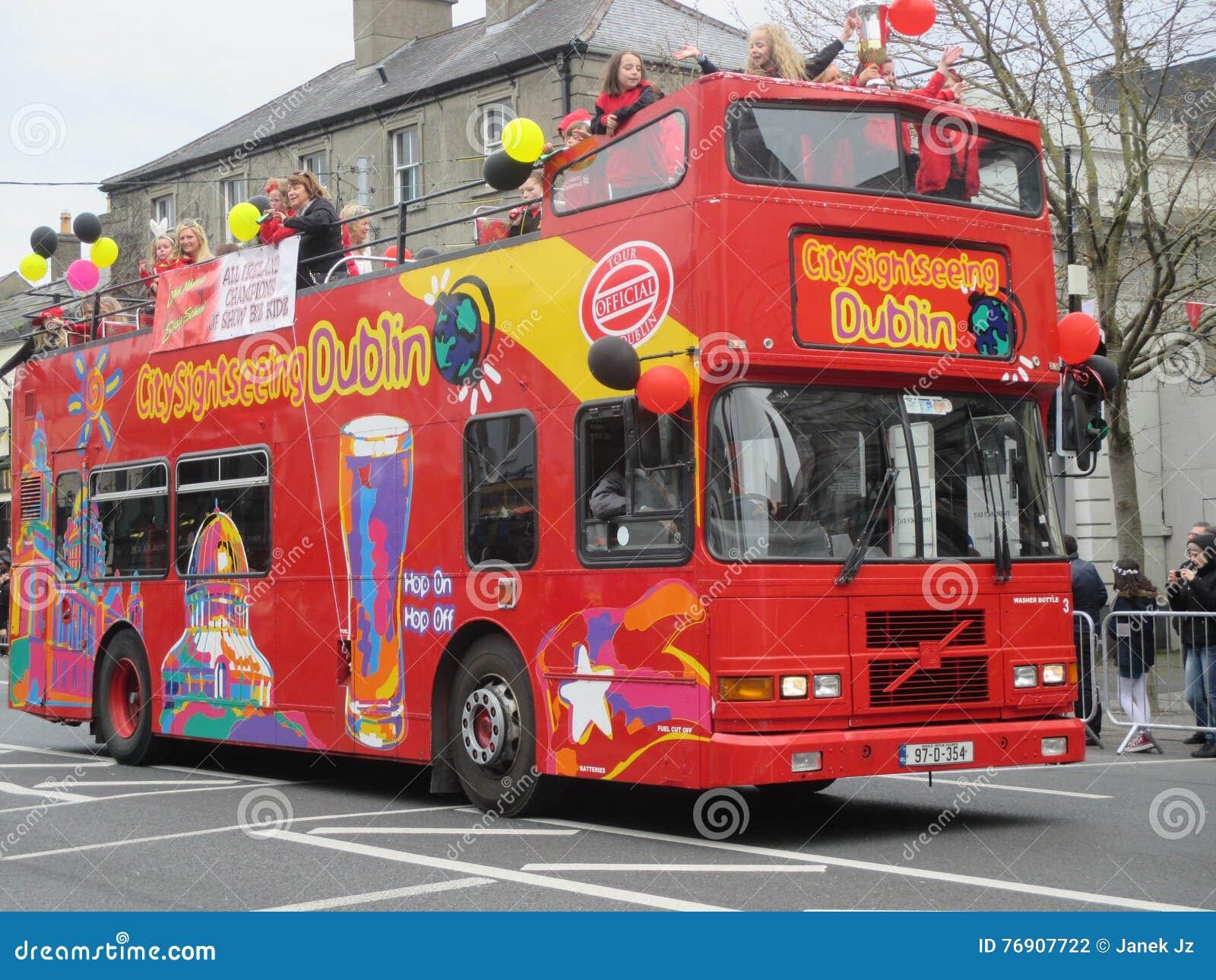 Λεωφορείο επίσκεψης του Δουβλίνου