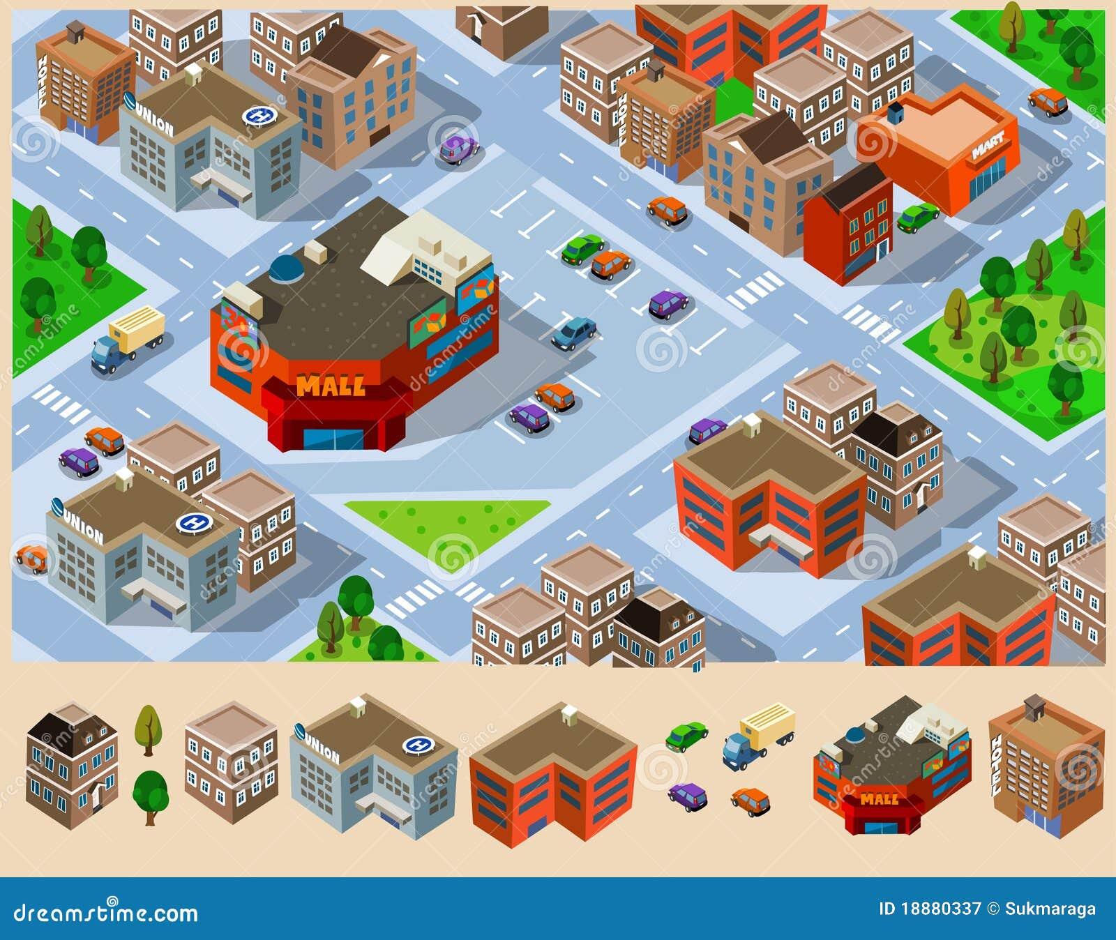 λεωφόρος πόλεων κτηρίων