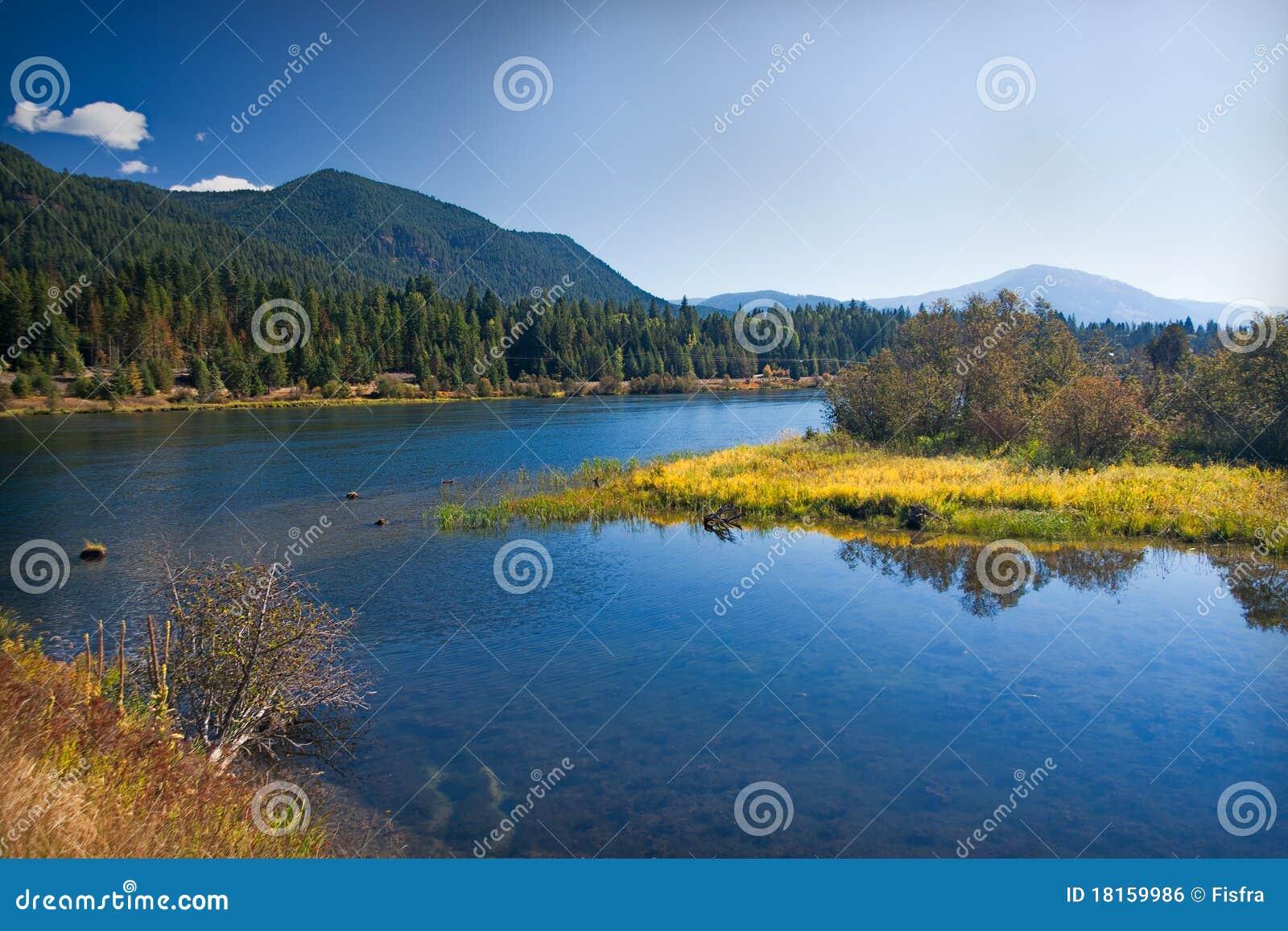 λιβάδι Μοντάνα του lakeland