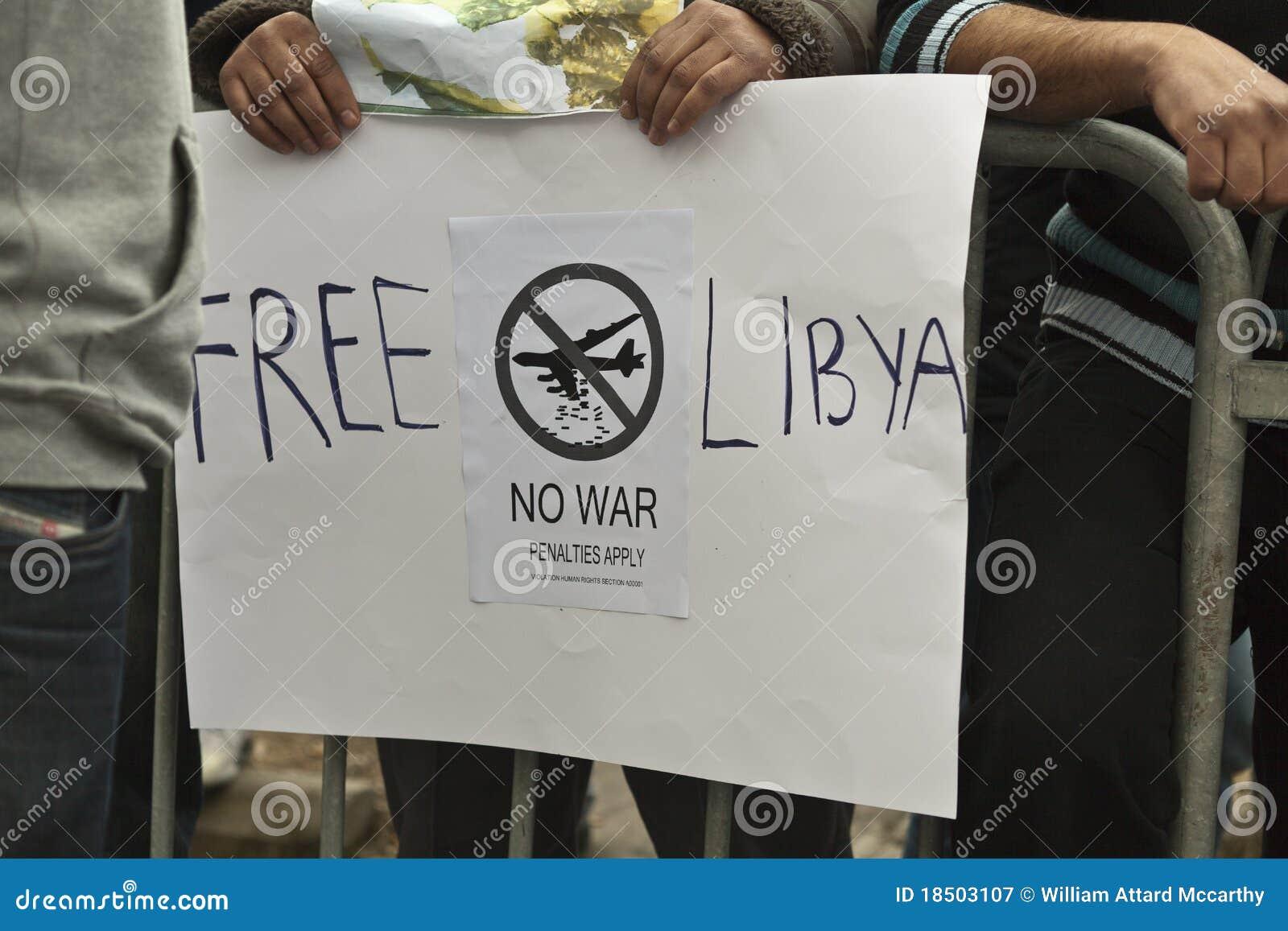 λιβυκή διαμαρτυρία πρεσ&be
